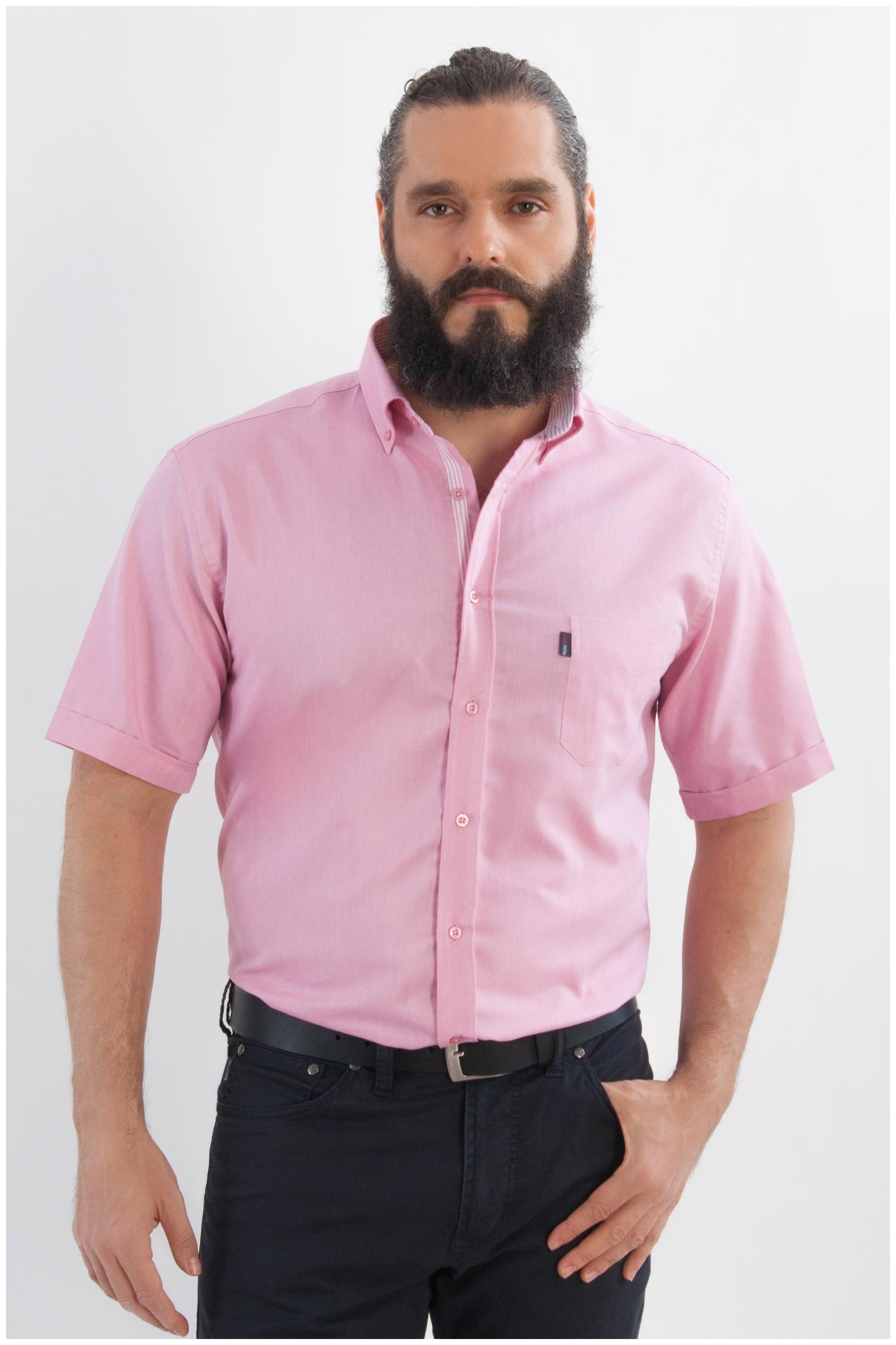 Camisas, Sport Manga Corta, 107971, CORAL | Zoom