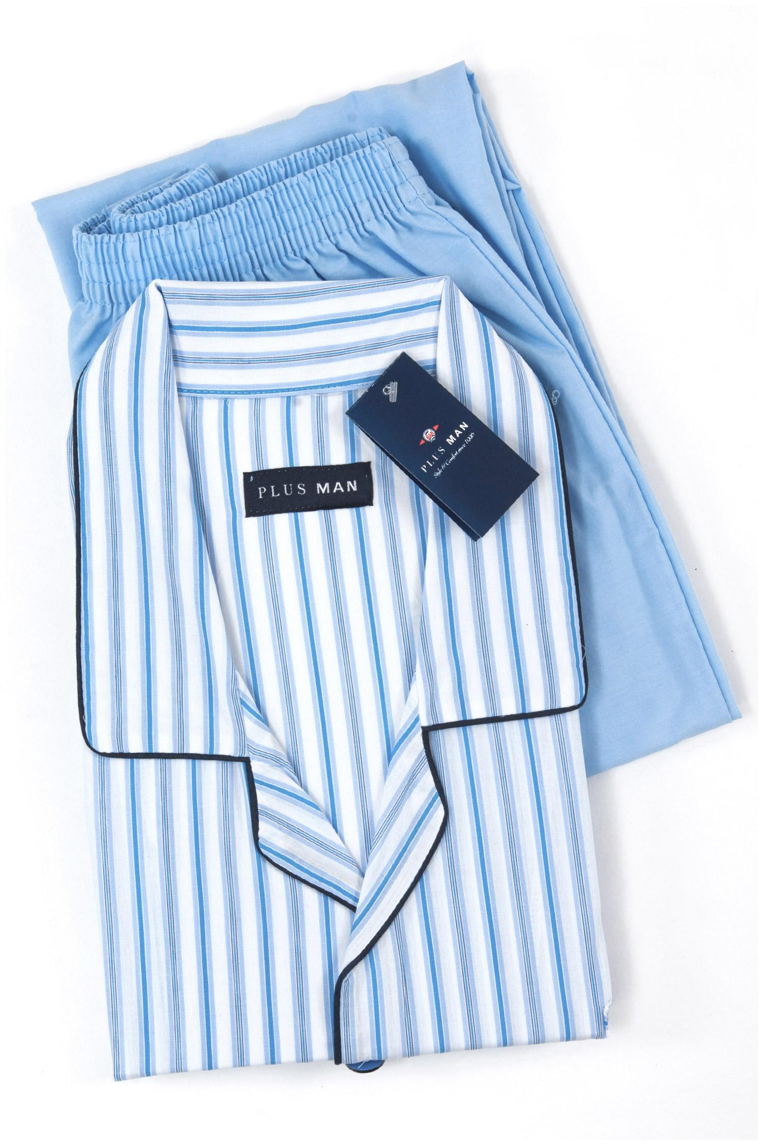 Homewear, Pijama M. Larga, 108014, CELESTE | Zoom