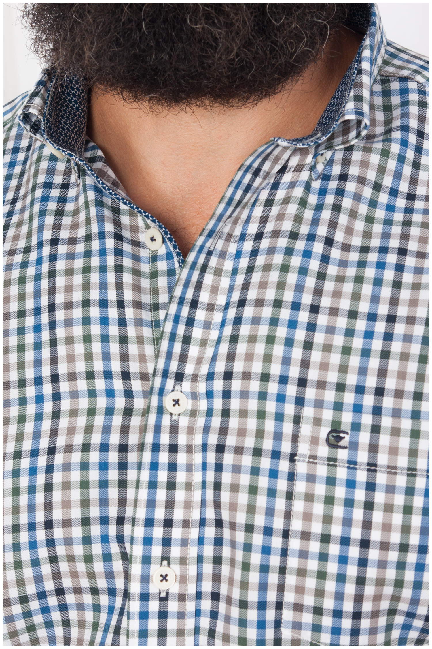 Camisas, Sport Manga Larga, 108145, MARINO | Zoom