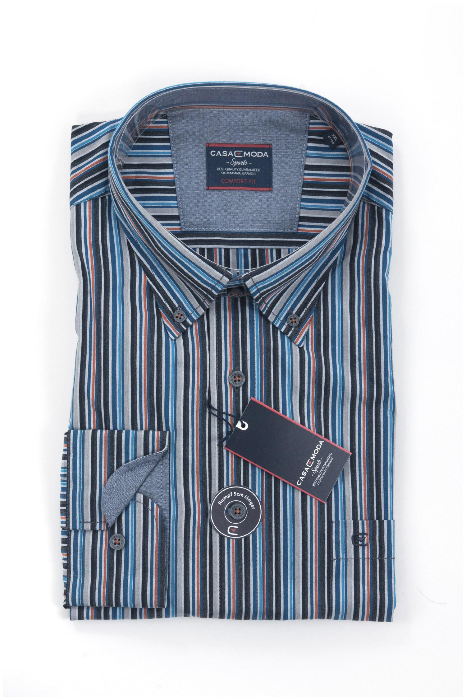 Camisas, Sport Manga Larga, 108148, MARINO | Zoom