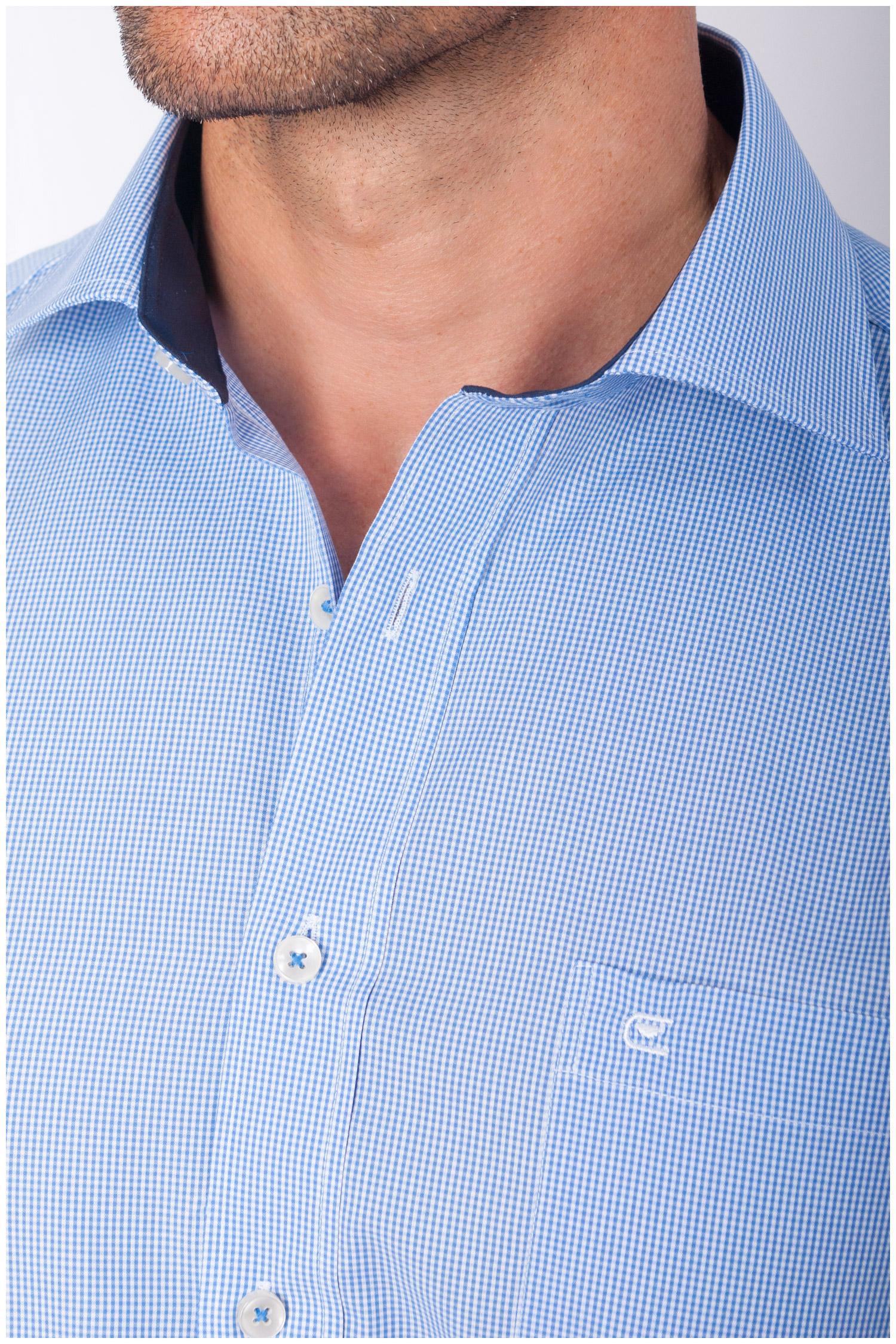 Camisas, Vestir Manga Larga, 108153, CELESTE | Zoom
