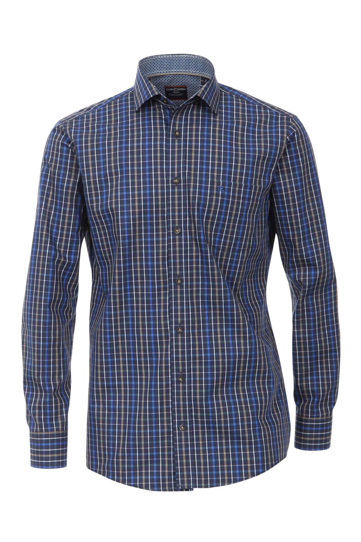 Camisas, Sport Manga Larga, 108155, MARINO | Zoom