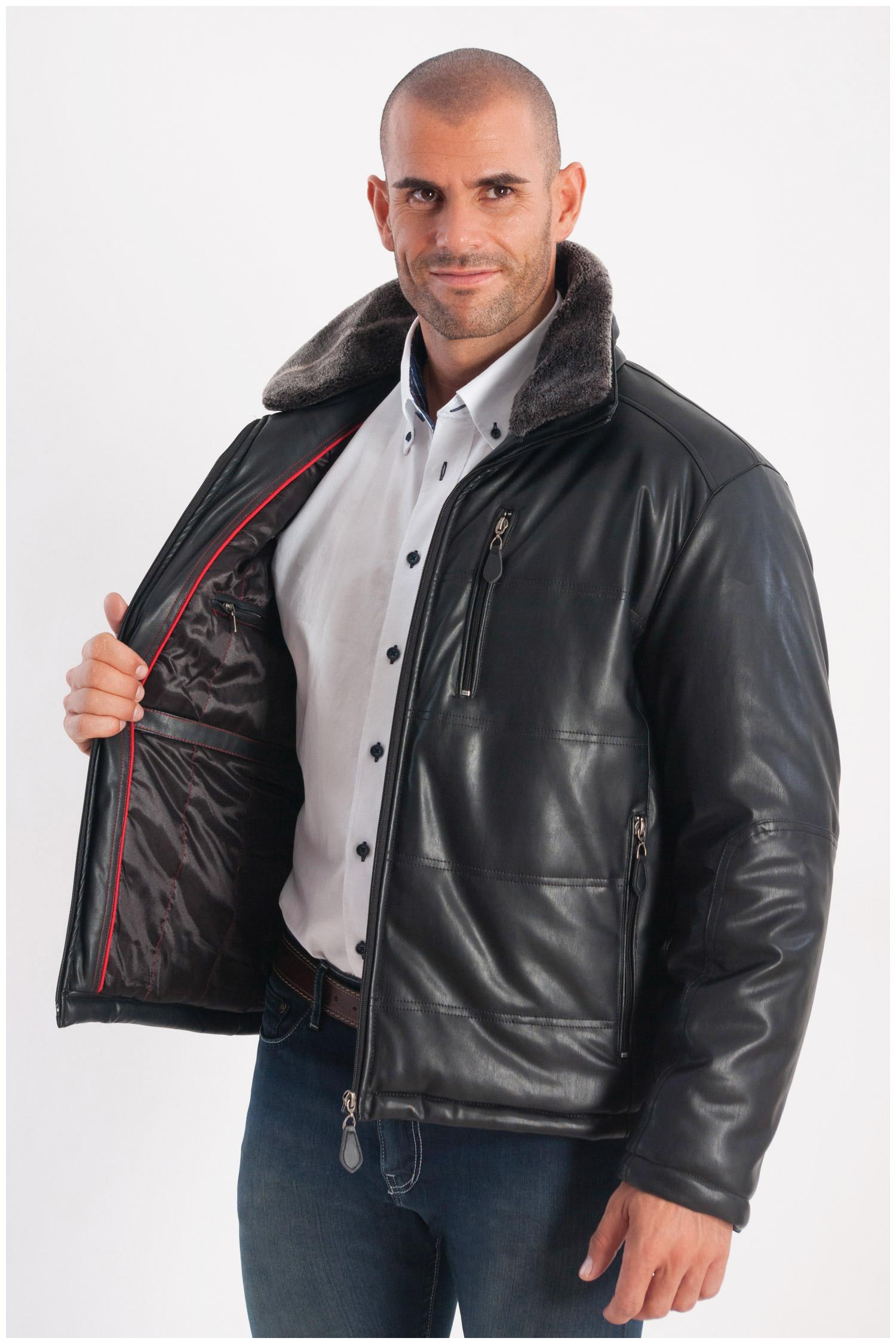 Abrigo, Chaquetones y Piel, 108216, NEGRO | Zoom