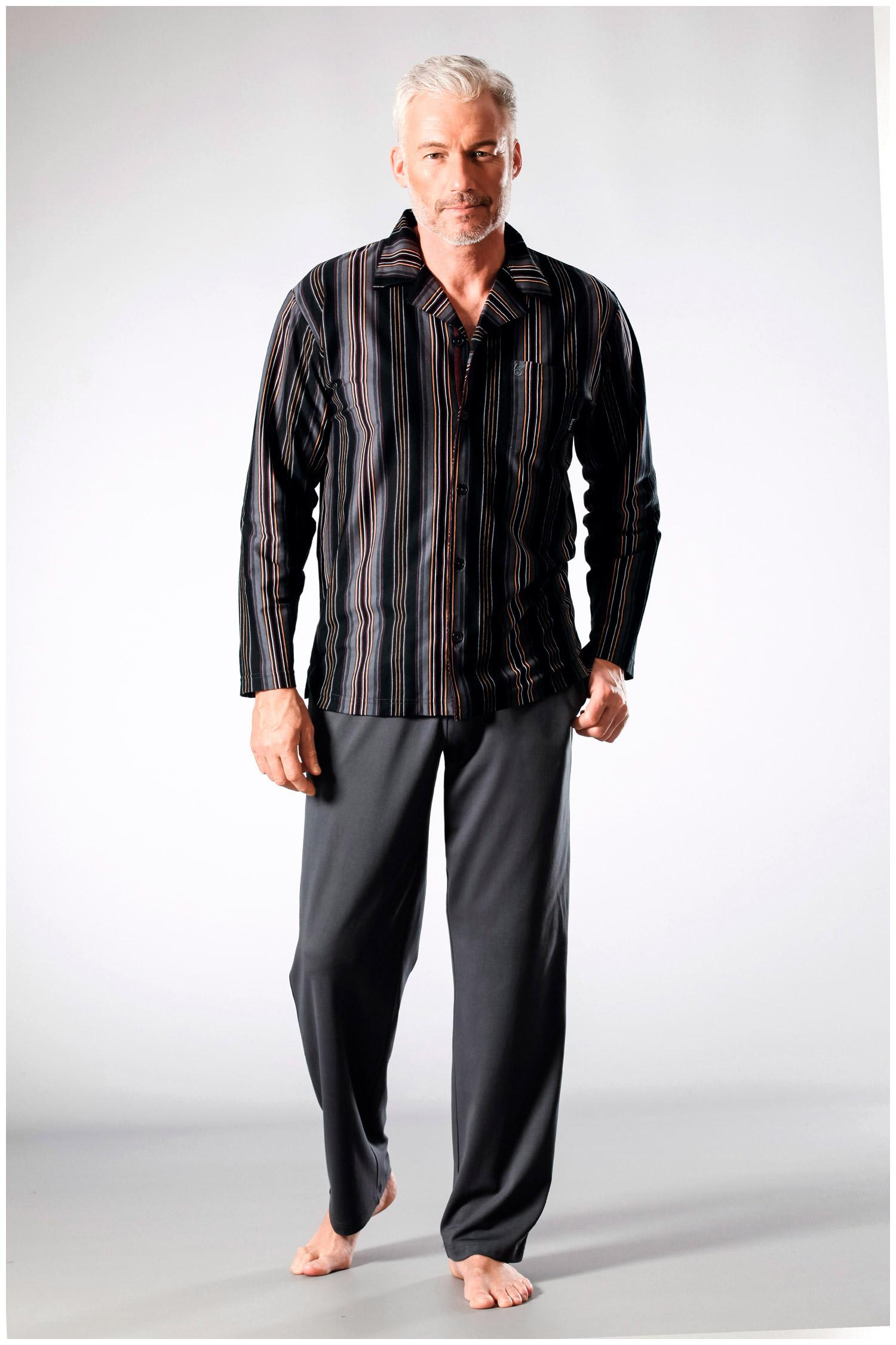 Homewear, Pijama M. Larga, 108230, ANTRACITA | Zoom