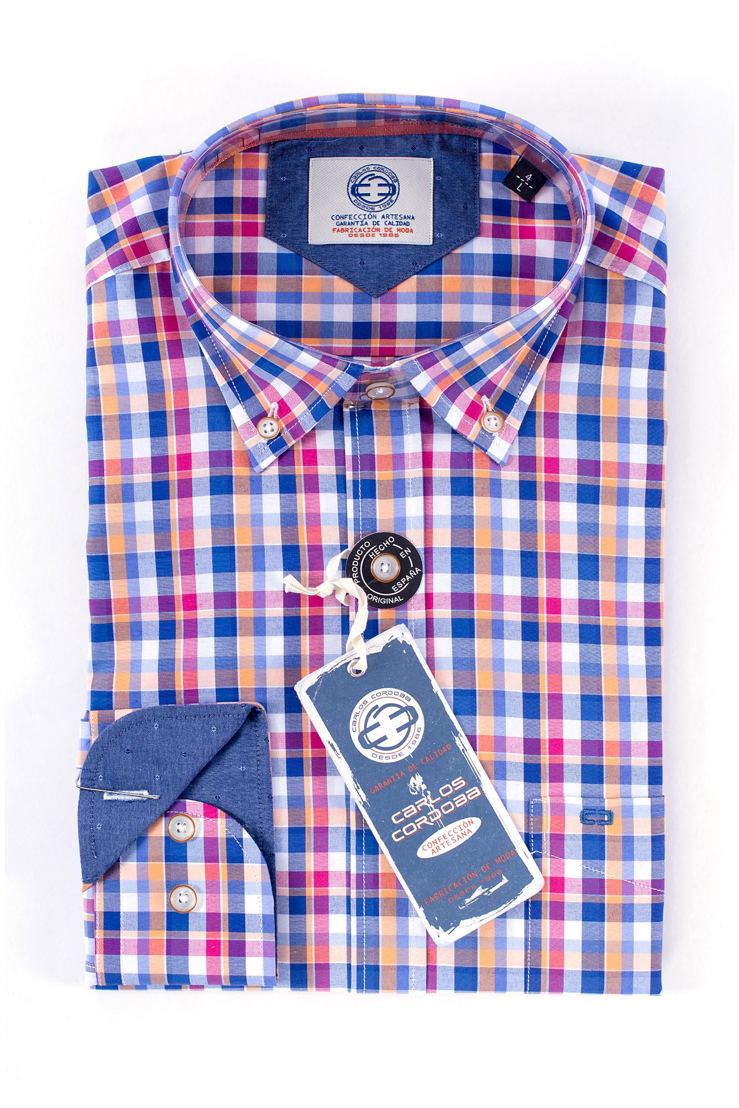 Camisas, Sport Manga Larga, 108353, FUCSIA | Zoom