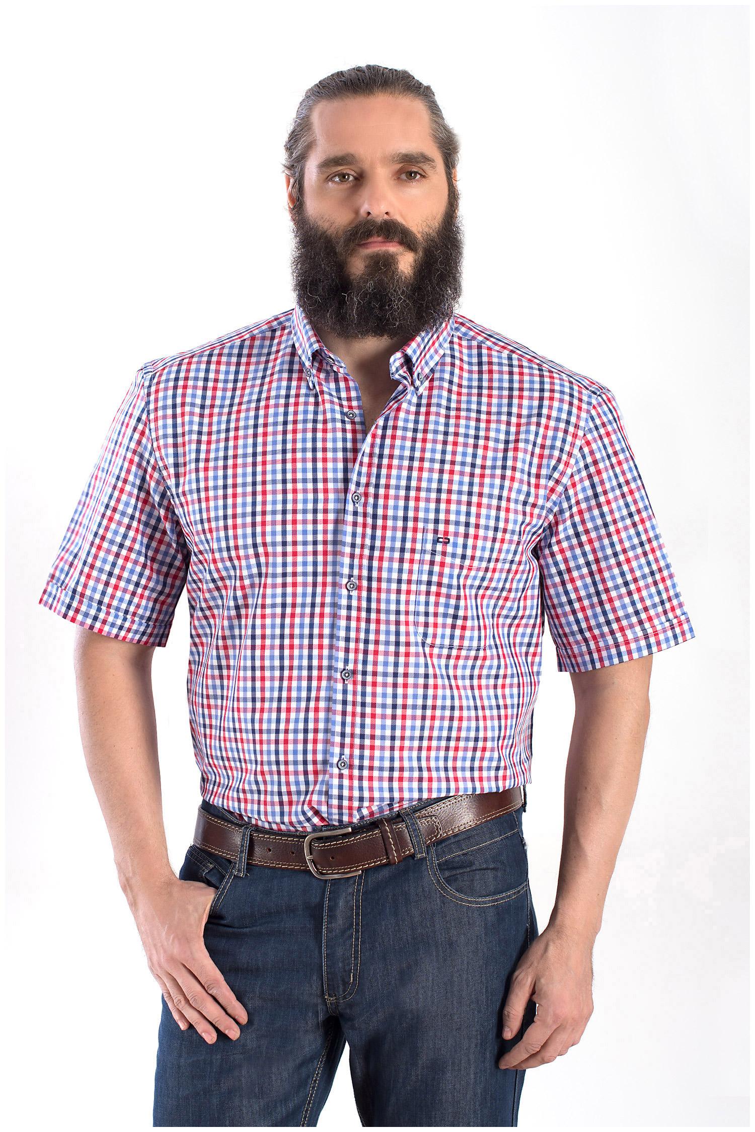 Camisas, Sport Manga Corta, 108357, GRANATE   Zoom