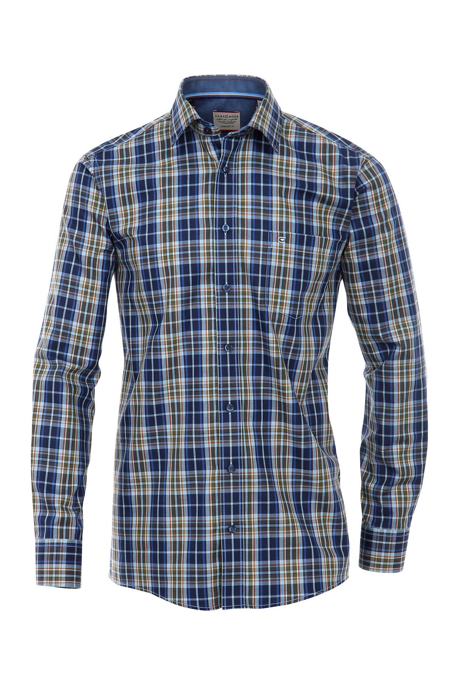 Camisas, Sport Manga Larga, 108367, MARINO | Zoom