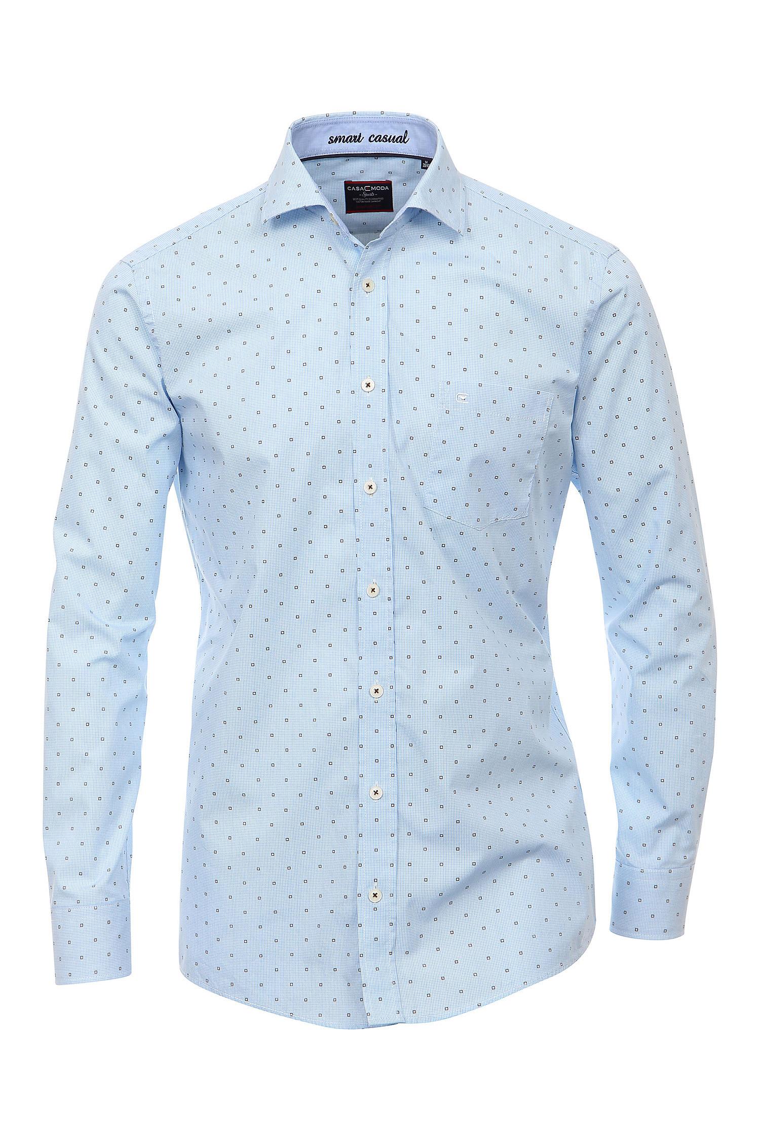 Camisas, Vestir Manga Larga, 108378, CELESTE | Zoom