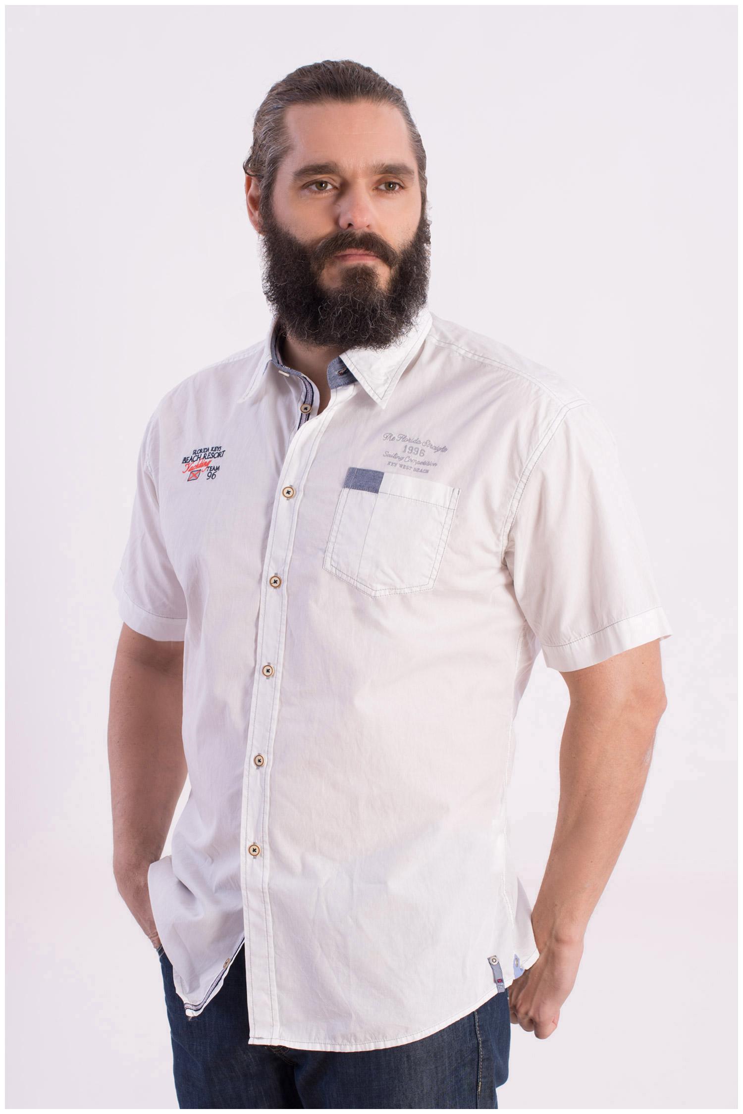 Camisas, Sport Manga Corta, 108415, BLANCO | Zoom