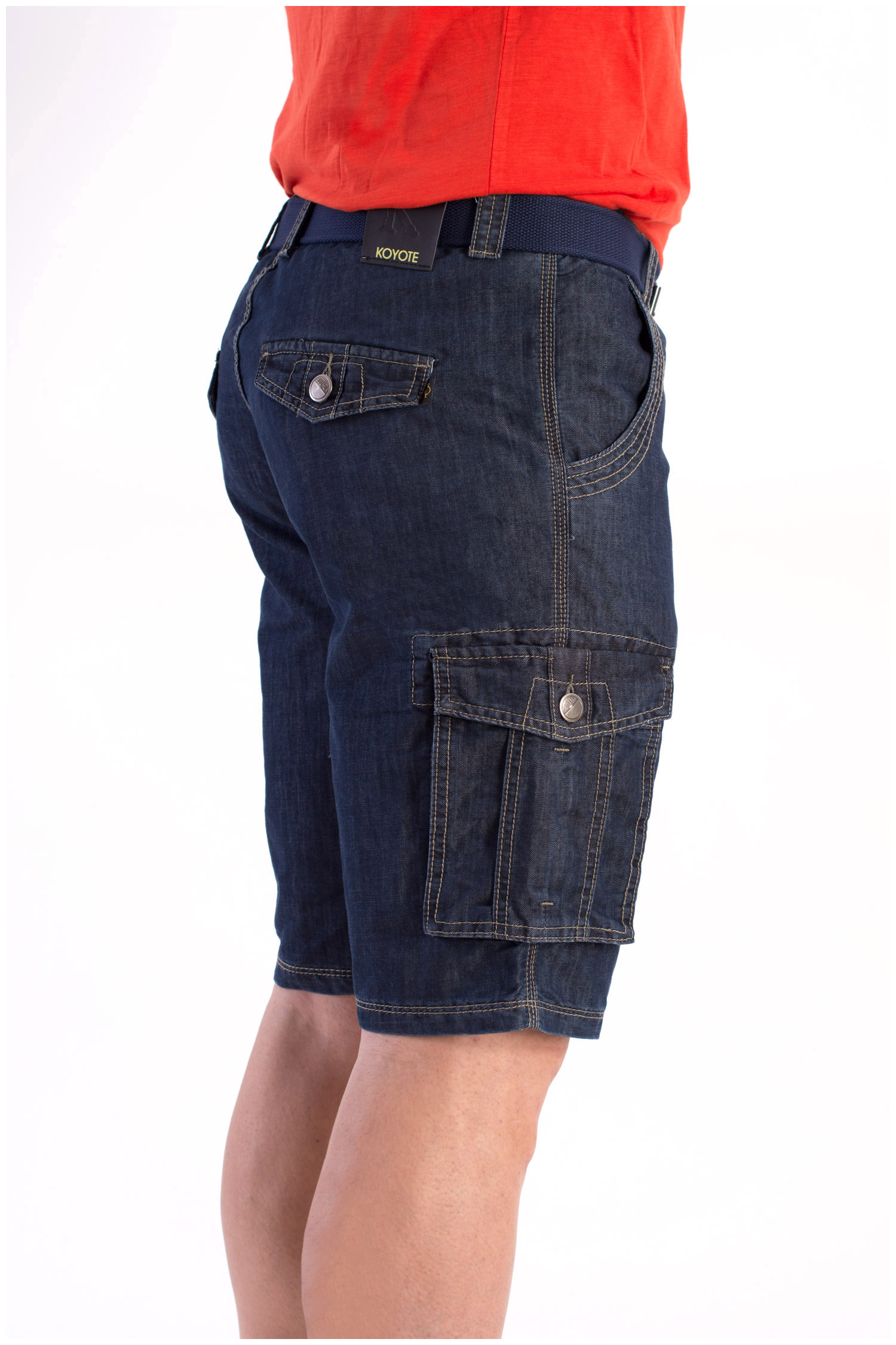 Pantalones, Bermudas, 108416, INDIGO | Zoom