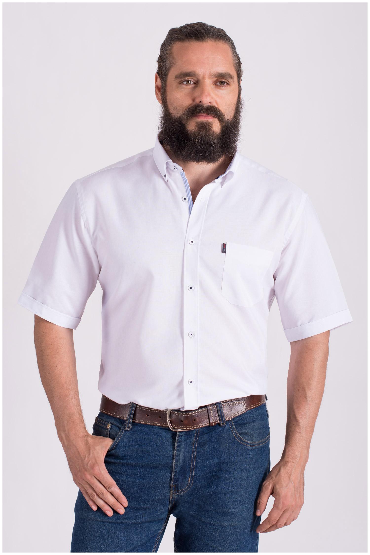 Camisas, Sport Manga Corta, 108428, BLANCO | Zoom