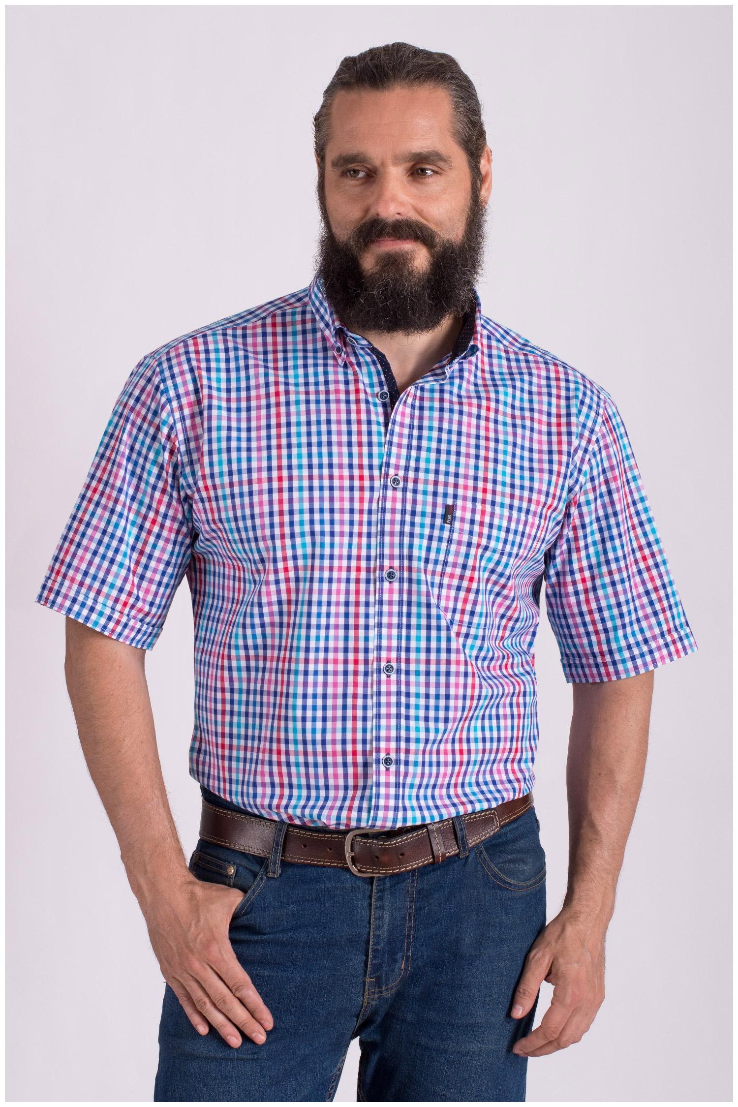 Camisas, Sport Manga Corta, 108429, MARINO | Zoom
