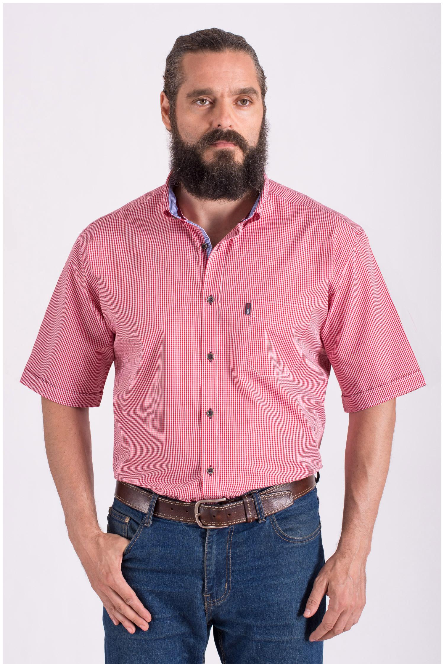Camisas, Sport Manga Corta, 108430, GRANATE | Zoom