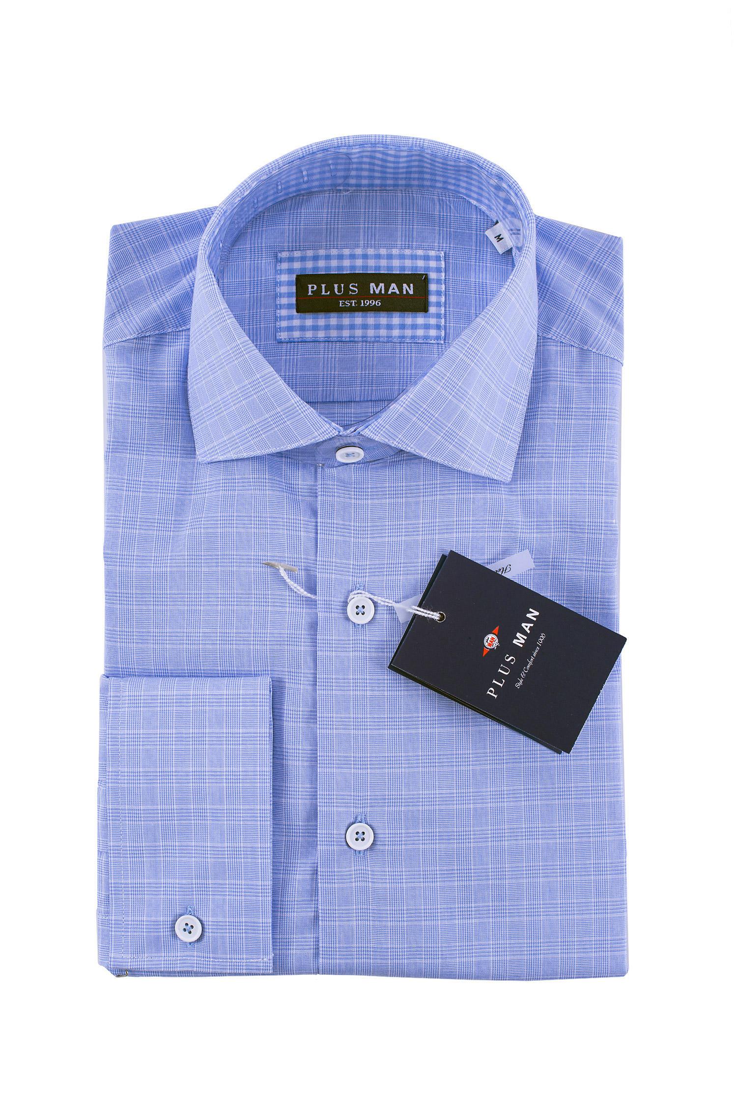 Camisas, Vestir Manga Larga, 108433, CELESTE | Zoom