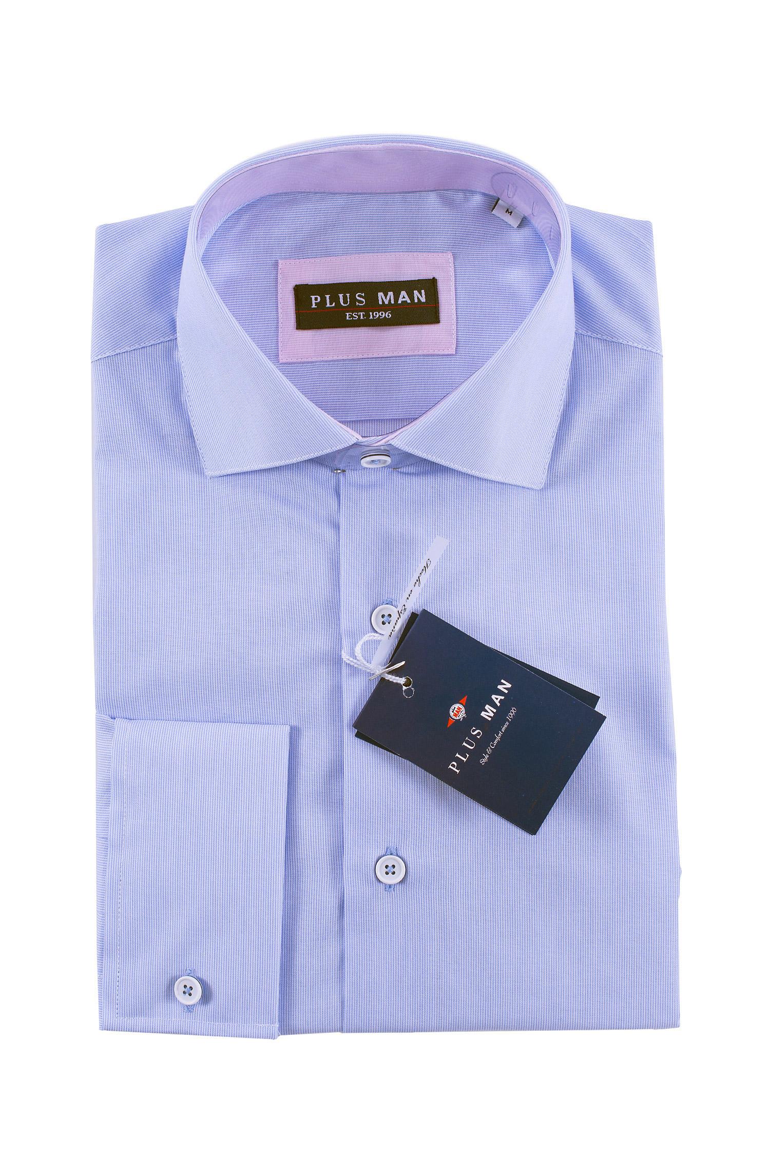 Camisas, Vestir Manga Larga, 108435, CELESTE   Zoom
