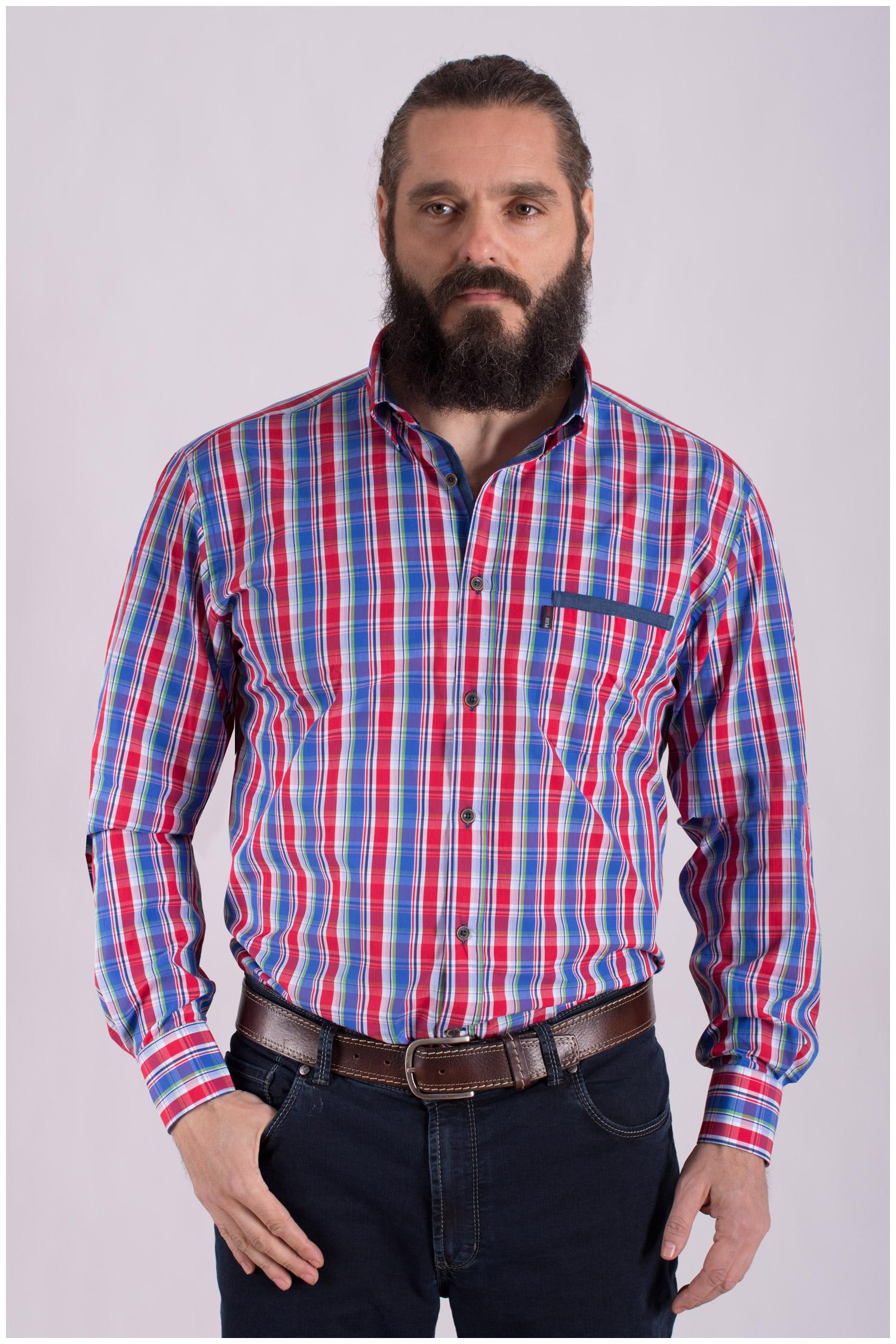 Camisas, Sport Manga Larga, 108436, MARINO | Zoom