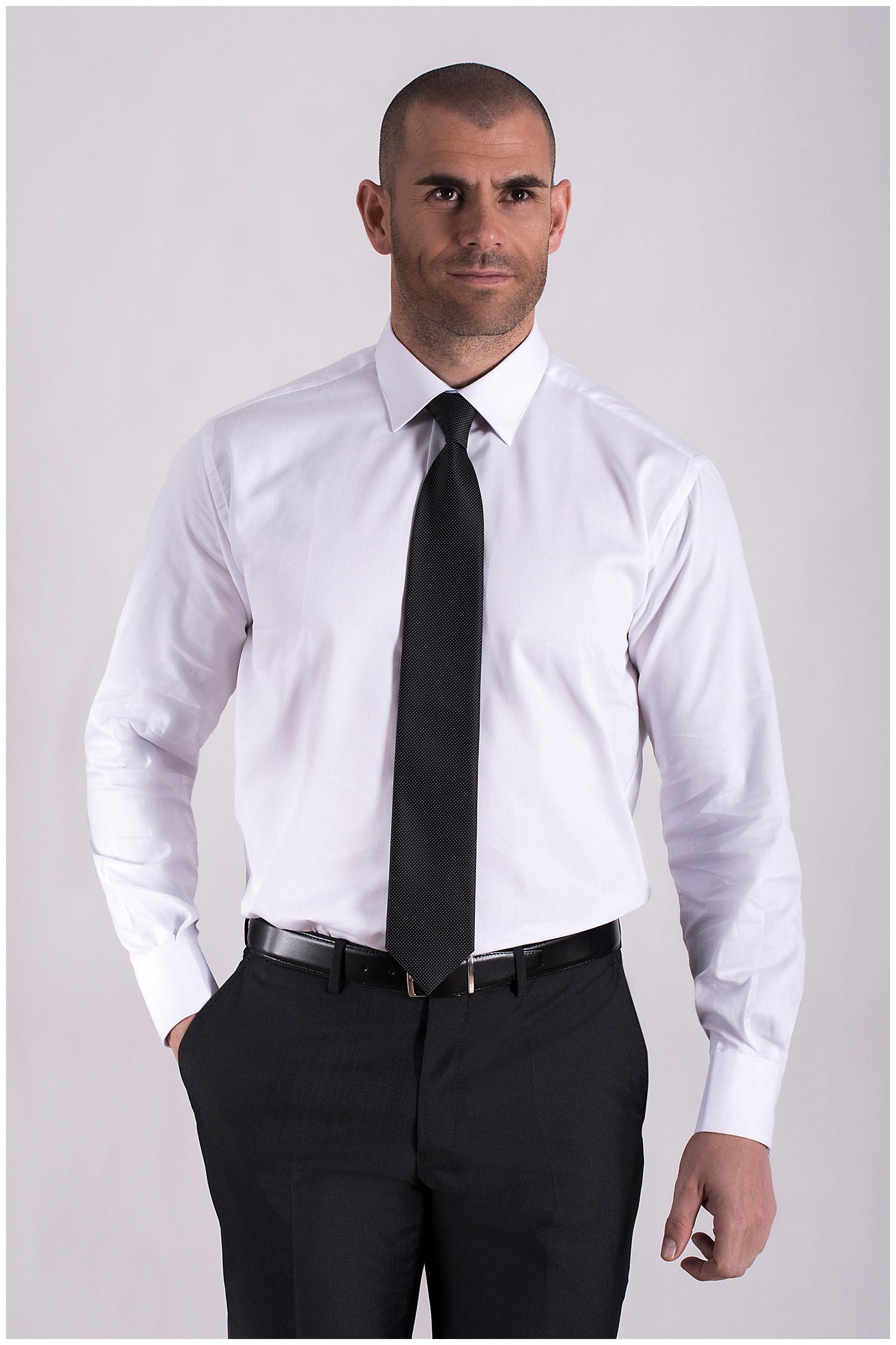 Camisas, Vestir Manga Larga, 108441, BLANCO   Zoom