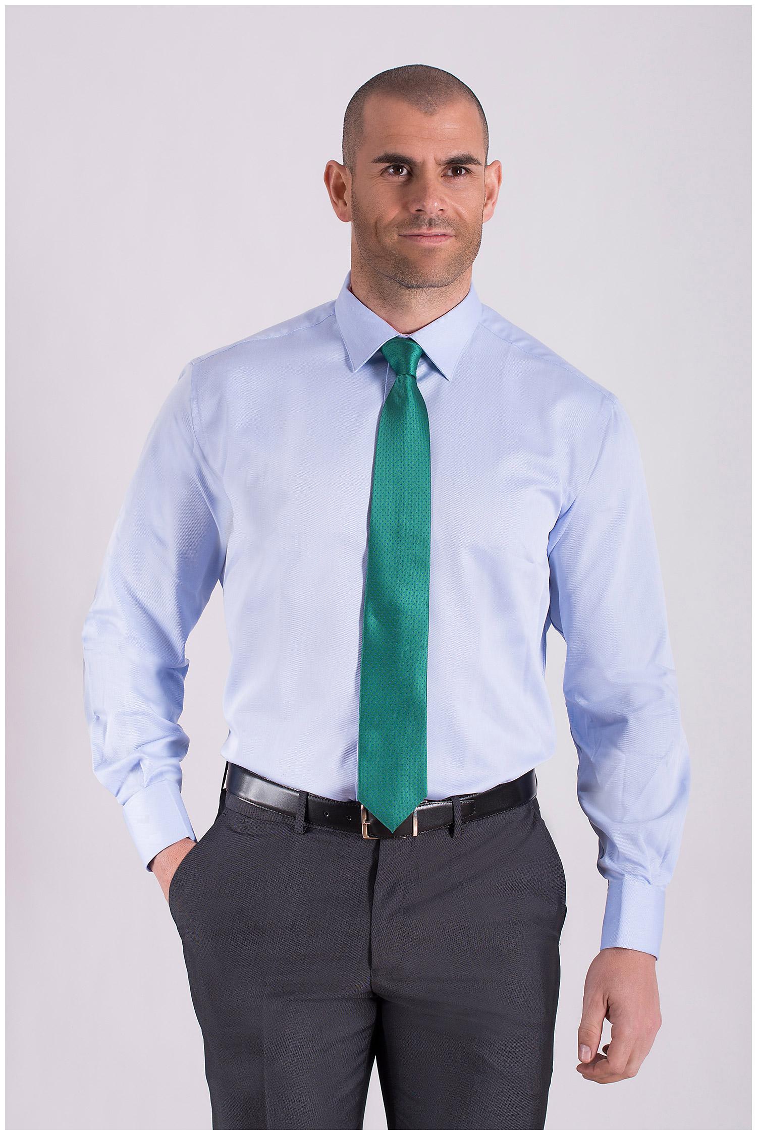 Camisas, Vestir Manga Larga, 108441, CELESTE   Zoom