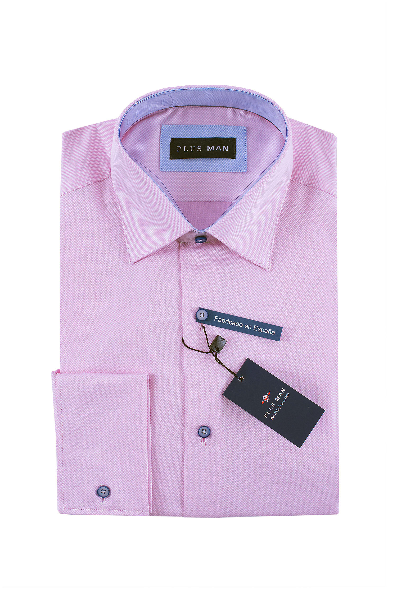 Camisas, Vestir Manga Larga, 108441, ROSA   Zoom