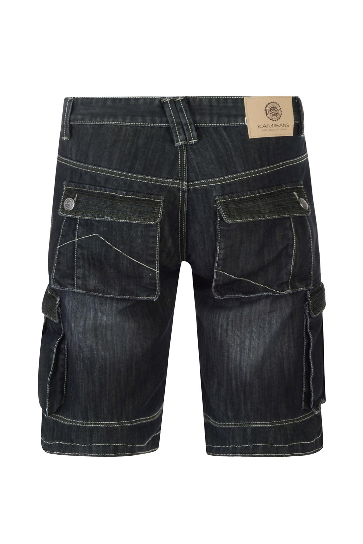Pantalones, Bermudas, 108487, NEGRO | Zoom
