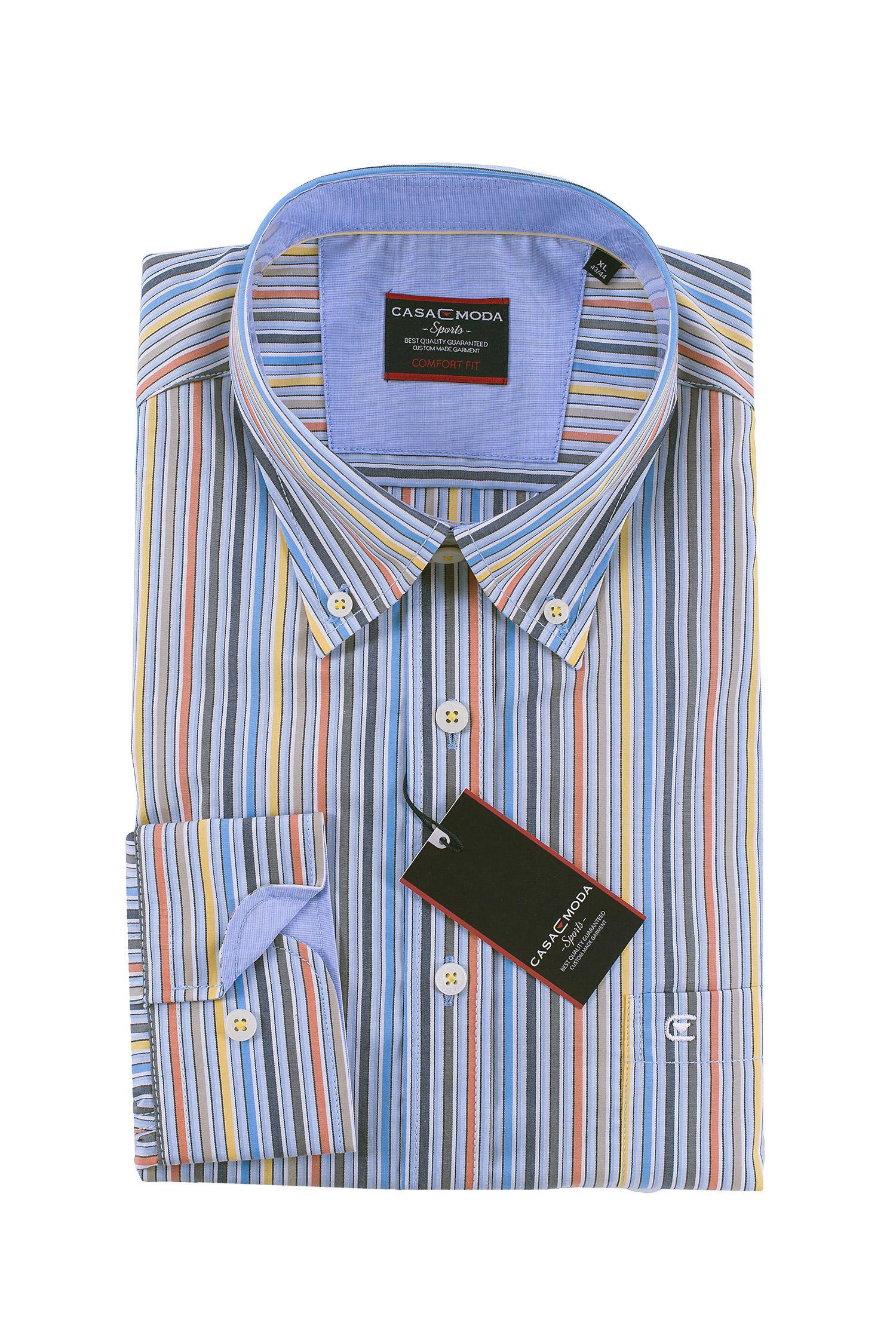 Camisas, Sport Manga Larga, 108490, NARANJA | Zoom