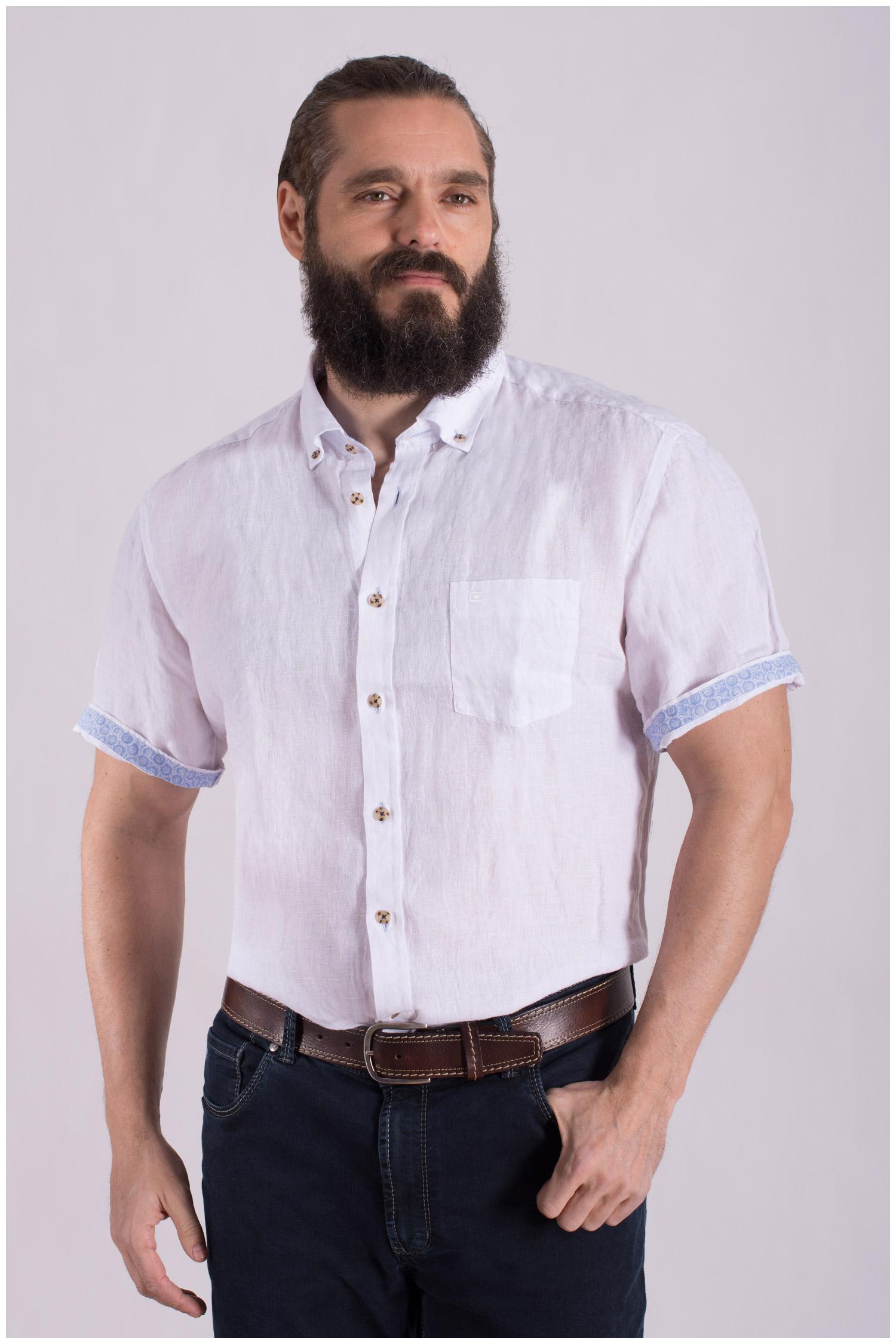 Camisas, Sport Manga Corta, 108502, BLANCO | Zoom