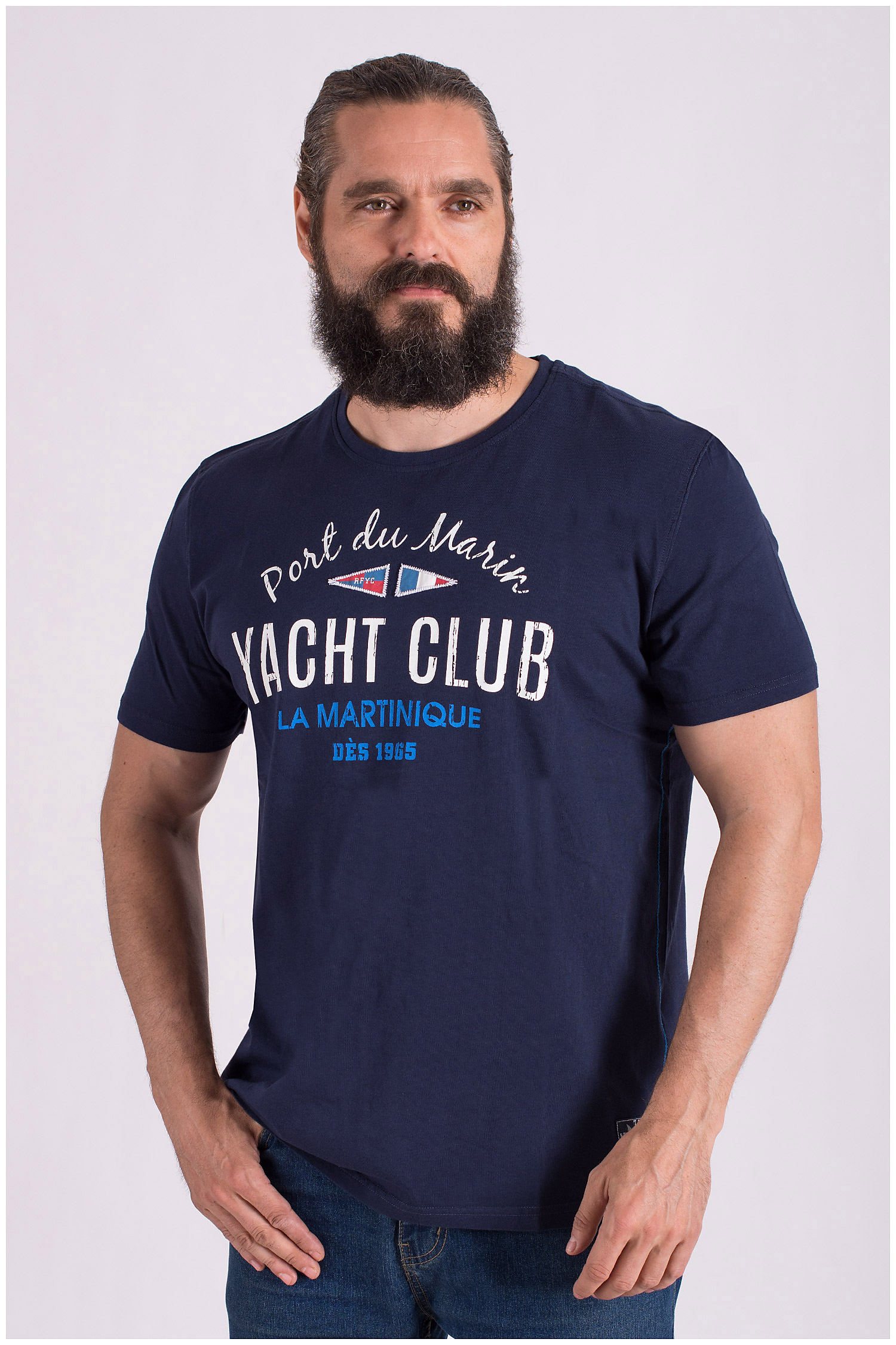 Sport, Camisetas M. Corta, 108515, MARINO   Zoom