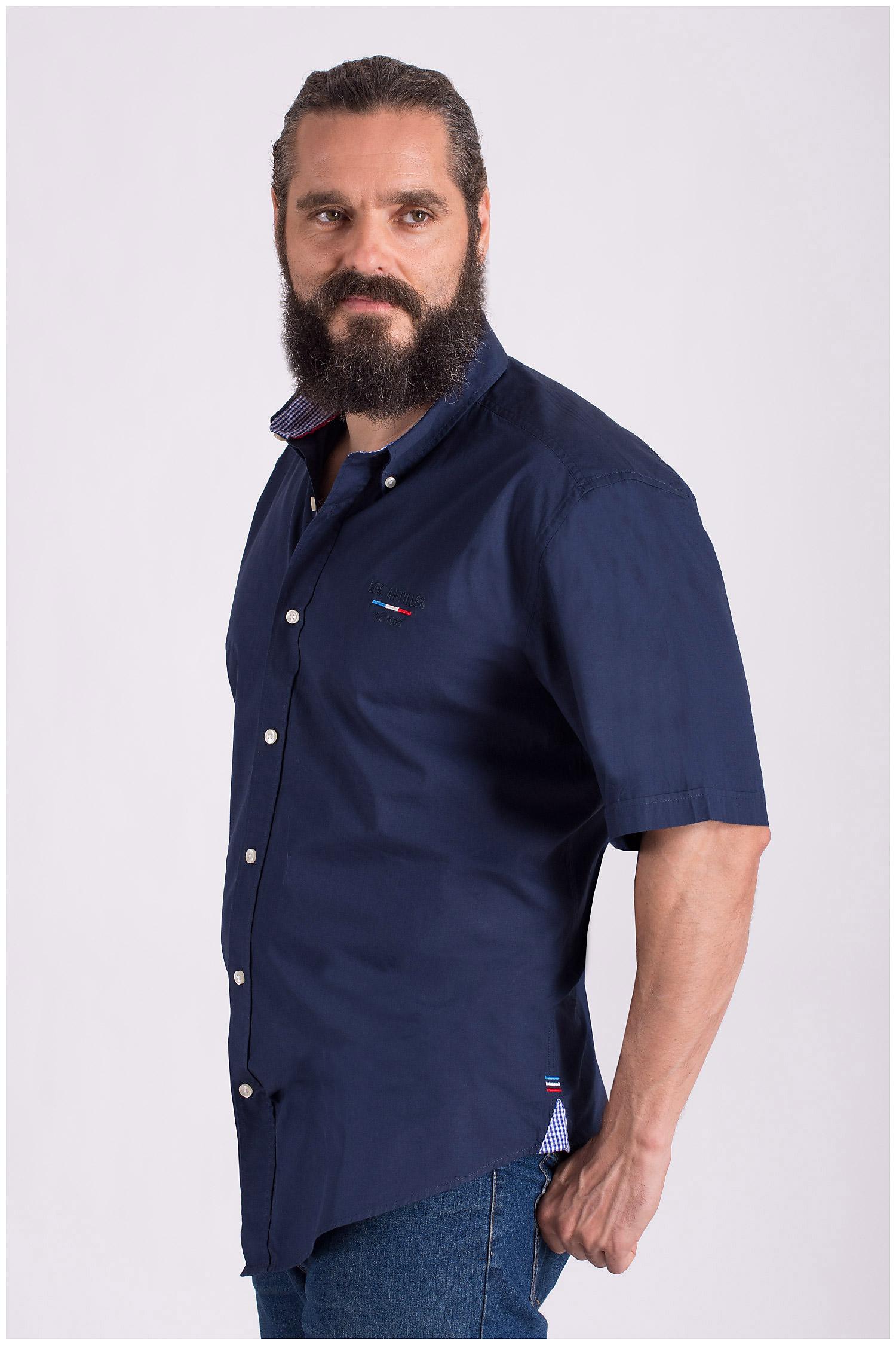 Camisas, Sport Manga Corta, 108518, MARINO | Zoom