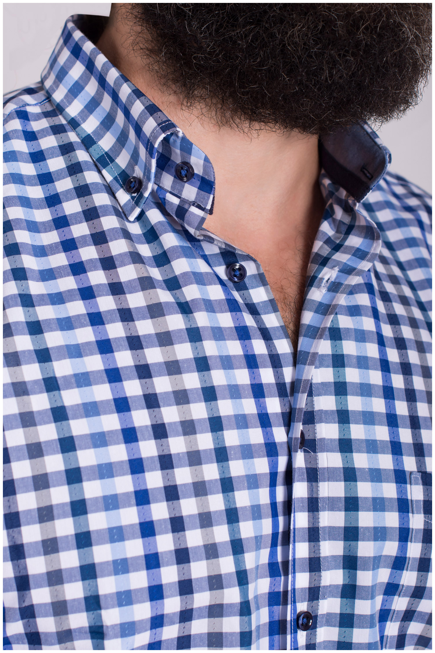 Camisas, Sport Manga Larga, 108559, MARINO | Zoom