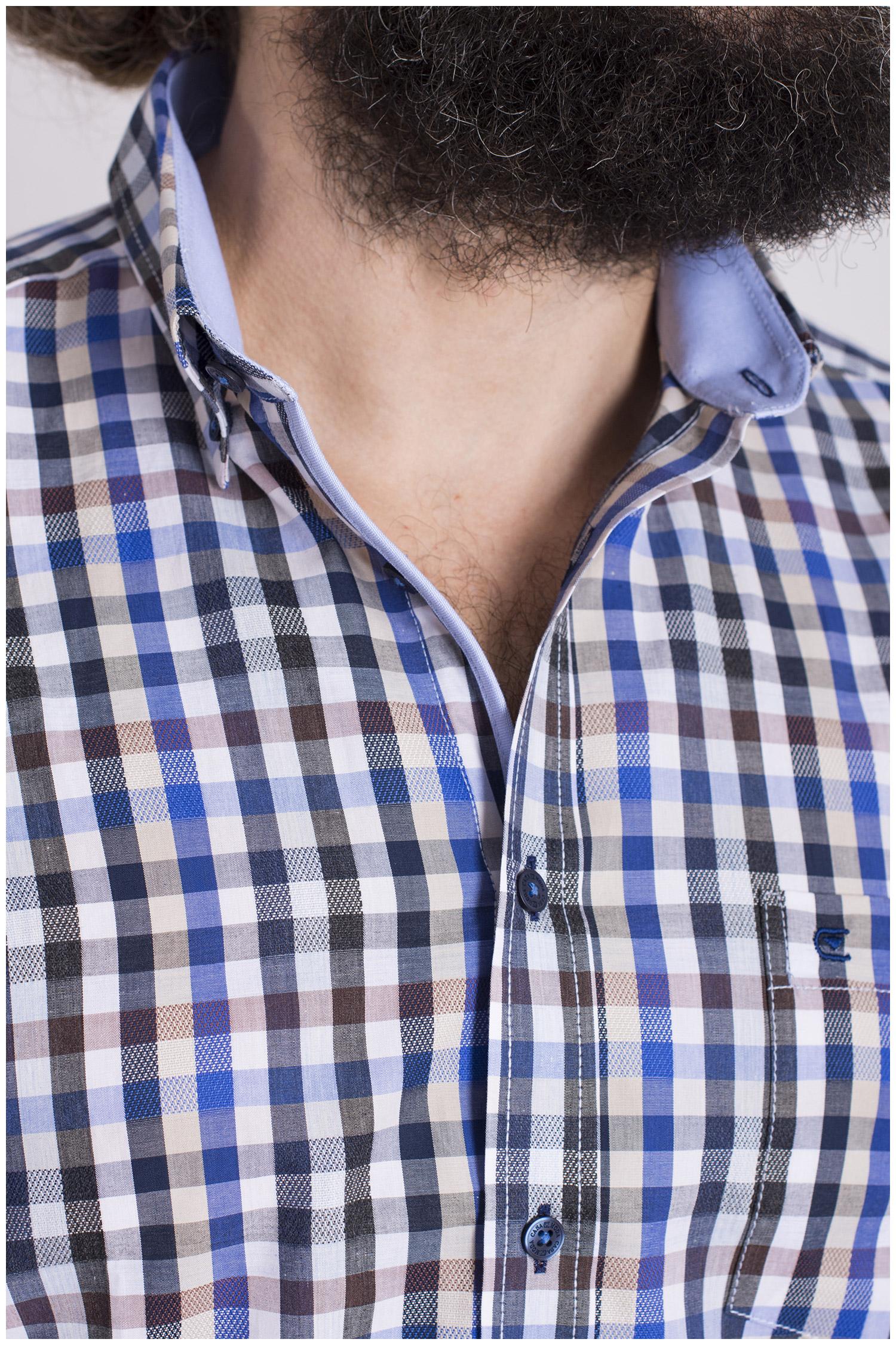 Camisas, Sport Manga Larga, 108603, MARINO | Zoom