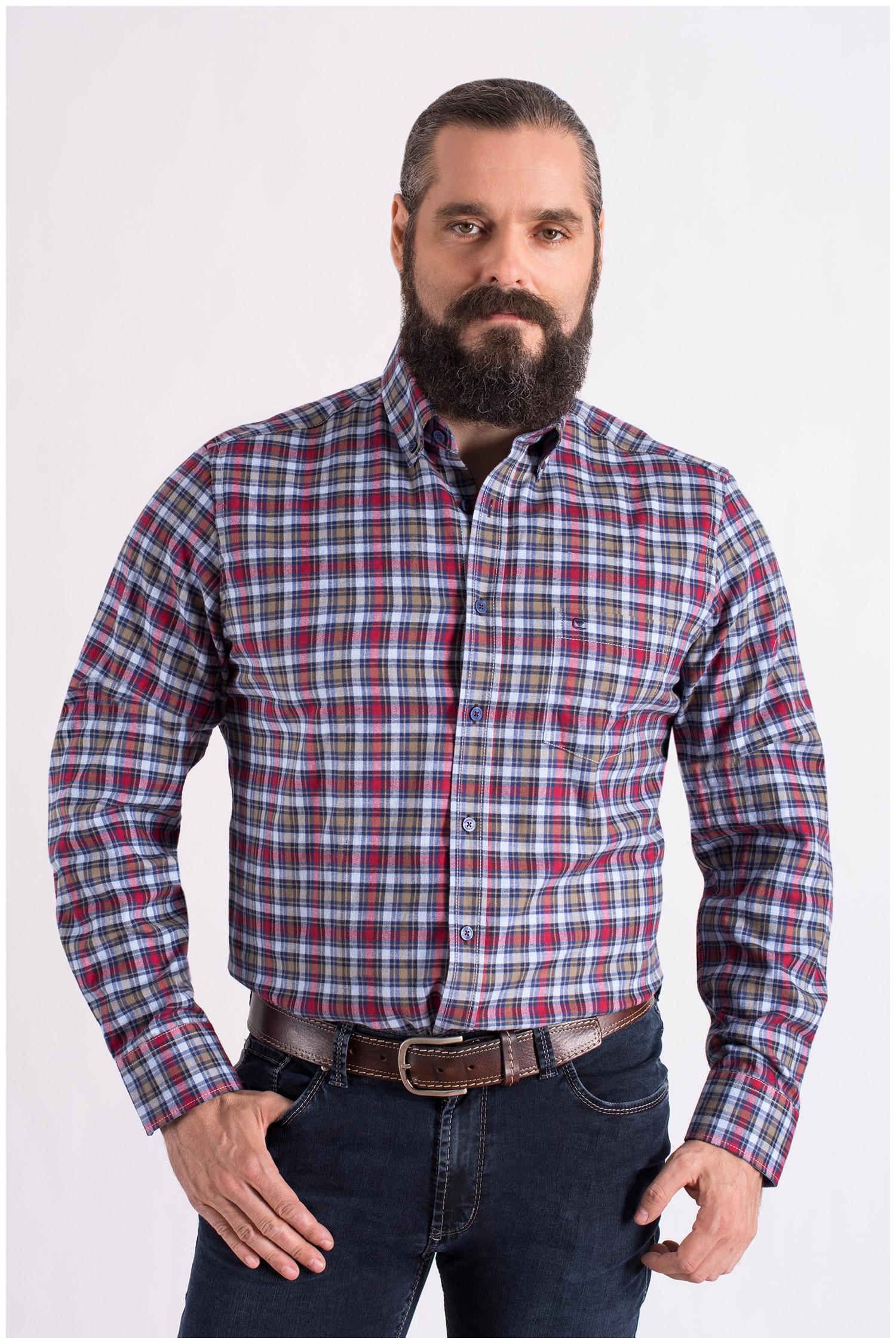 Camisas, Sport Manga Larga, 108608, GRANATE | Zoom