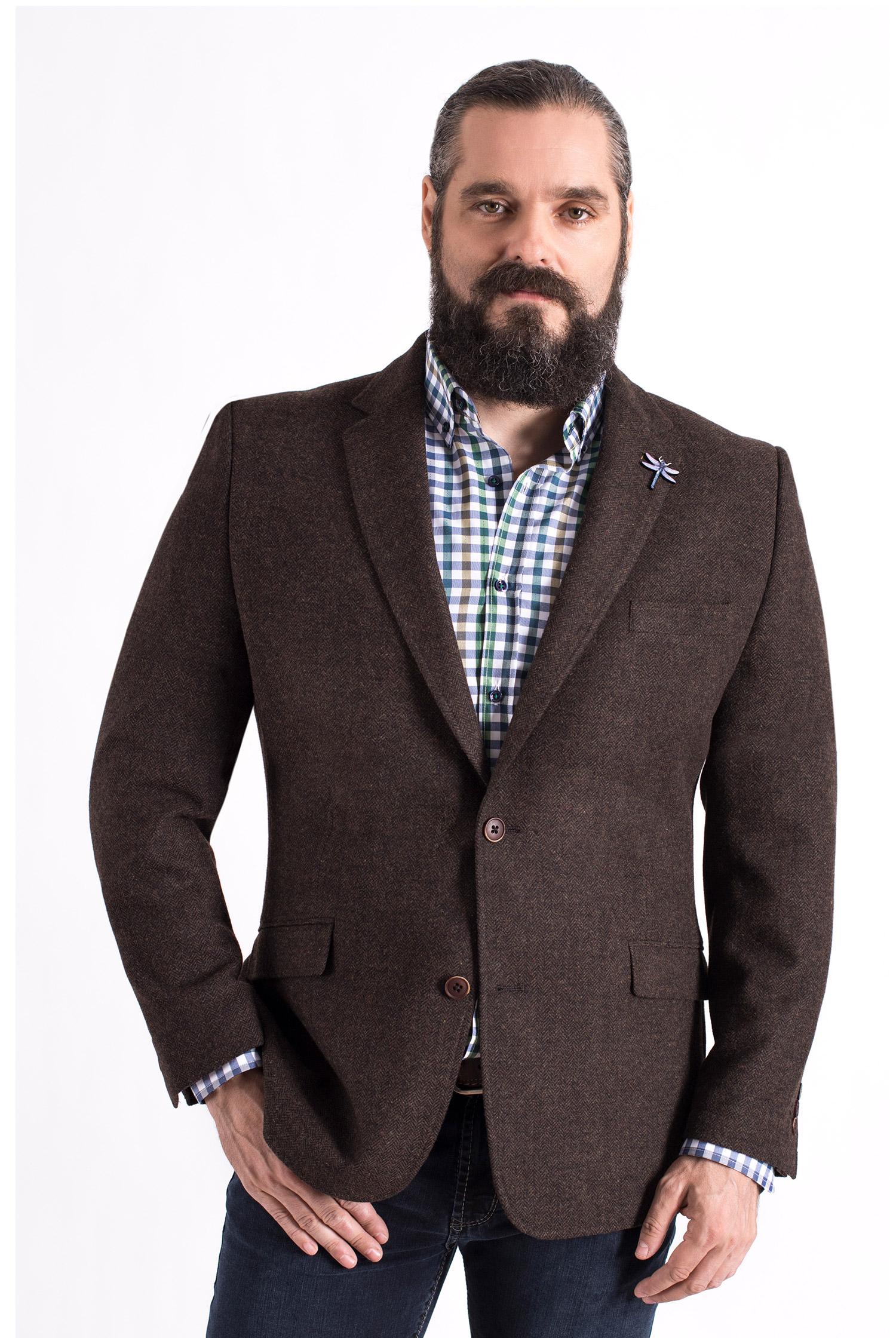 Sastrería, Americana Vestir, 108615, MARRON | Zoom