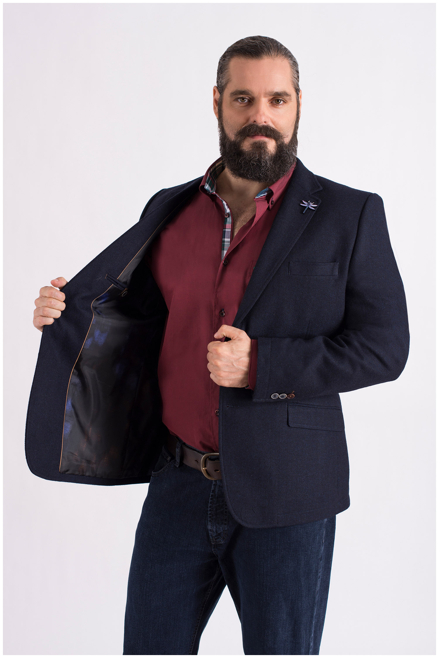 Sastrería, Americana Vestir, 108615, MARINO | Zoom
