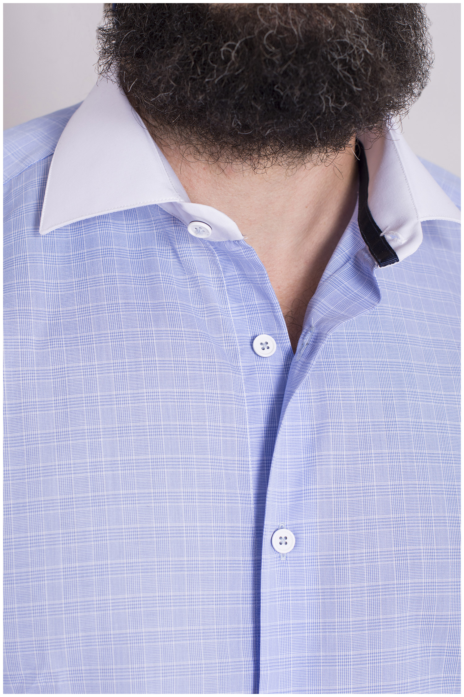 Camisas, Vestir Manga Larga, 108661, CELESTE | Zoom