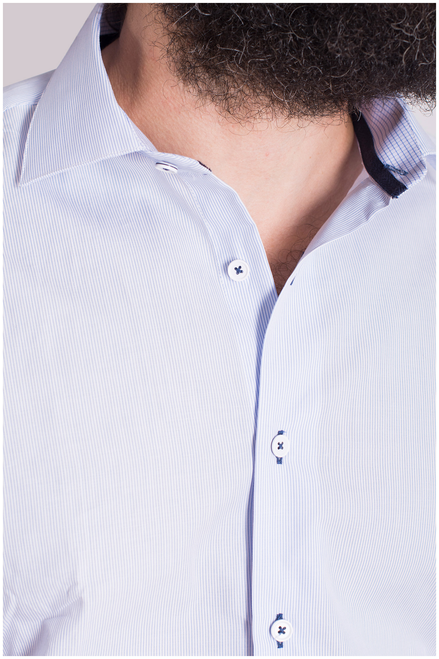 Camisas, Vestir Manga Larga, 108663, CELESTE | Zoom