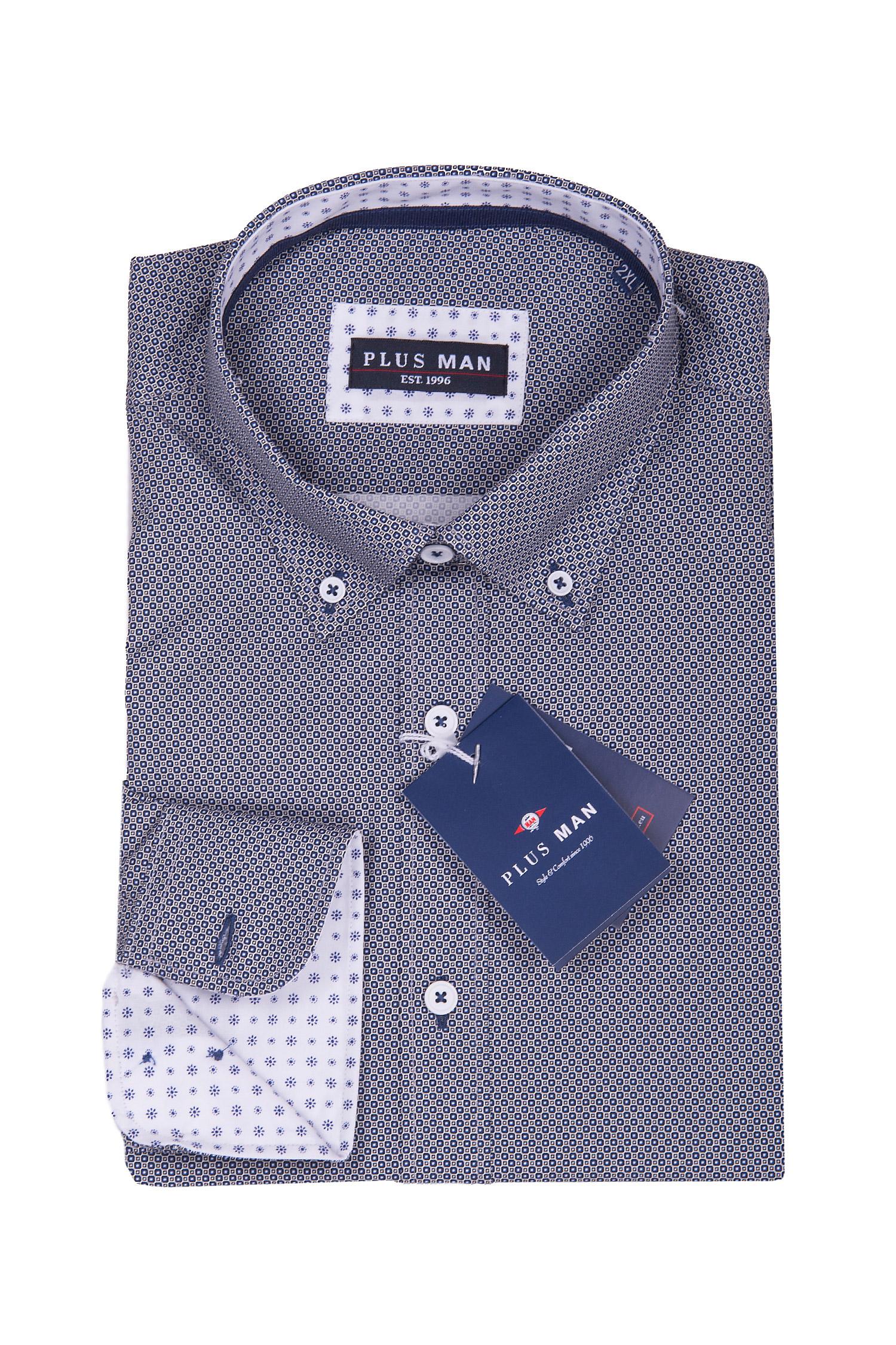 Camisas, Sport Manga Larga, 108665, MARINO | Zoom