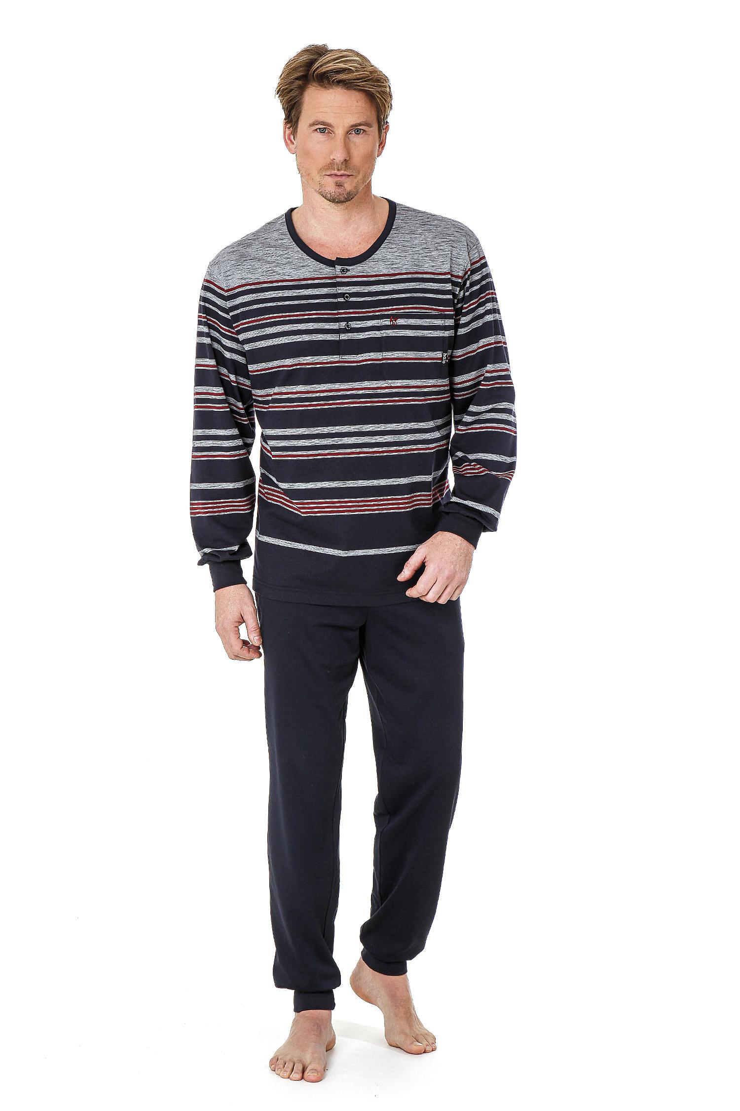 Homewear, Pijama M. Larga, 108703, MARINO | Zoom