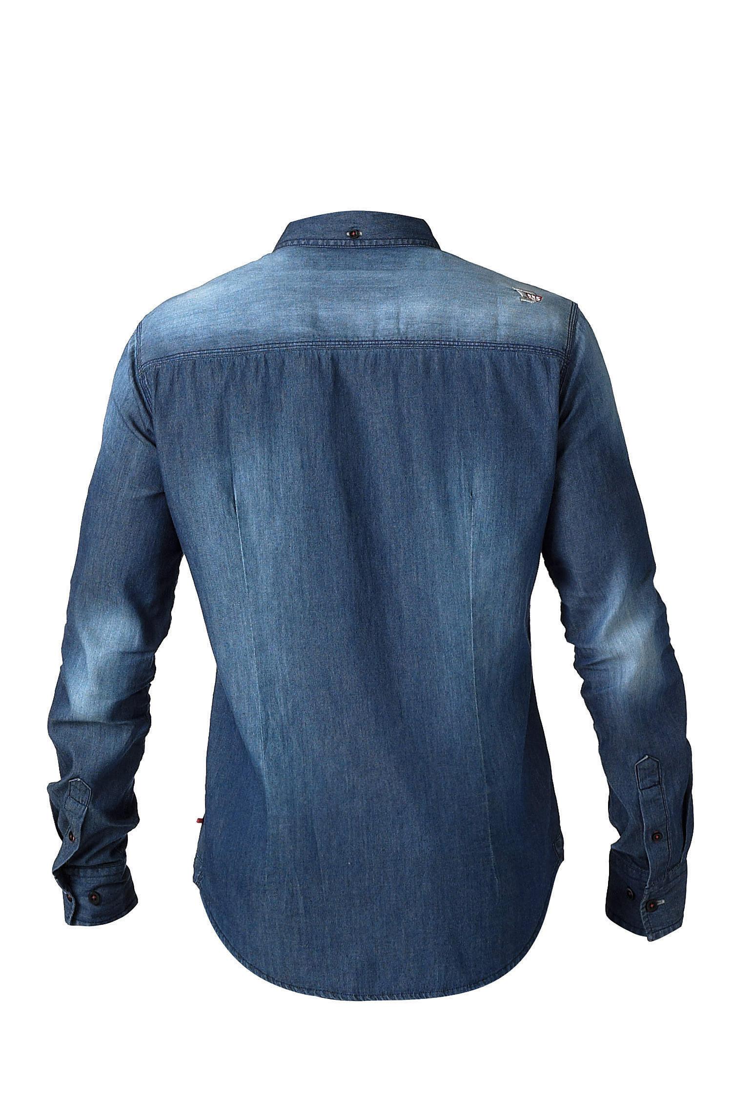 Camisas, Sport Manga Larga, 108707, INDIGO   Zoom