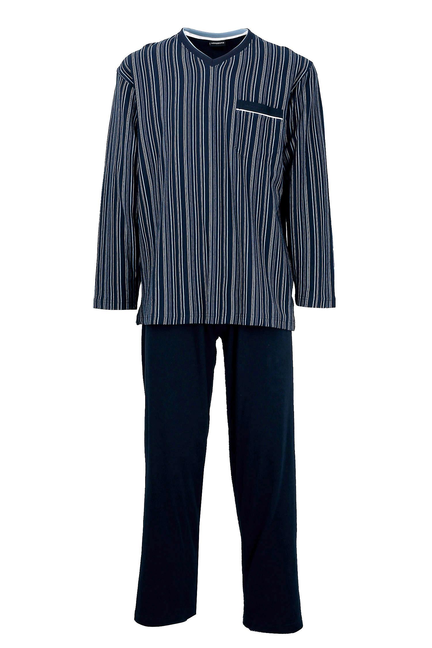 Homewear, Pijama M. Larga, 108722, MARINO | Zoom