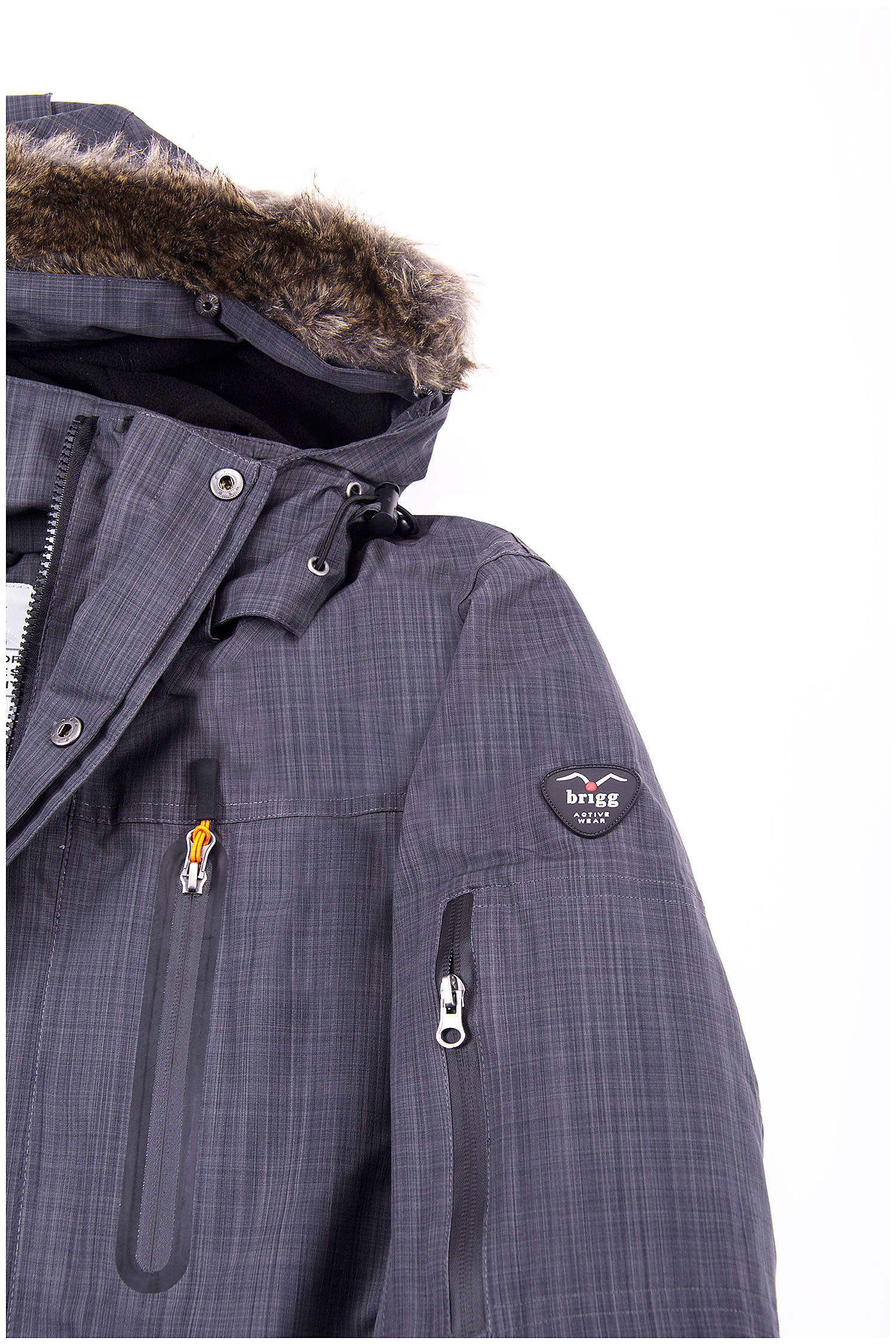 Abrigo, Chaquetones y Piel, 108743, GRIS MEDIO | Zoom