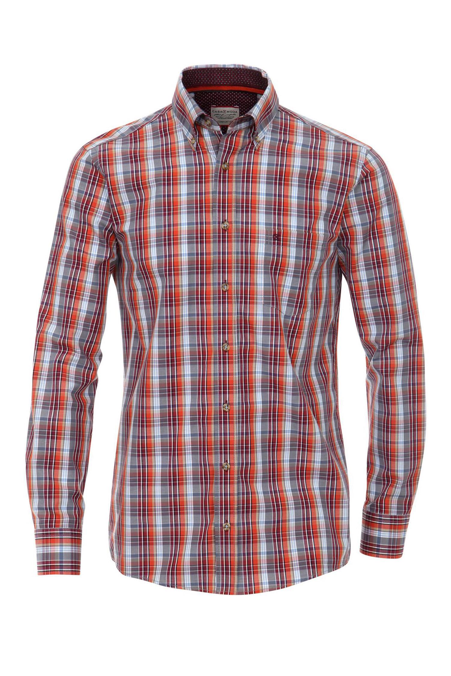 Camisas, Sport Manga Larga, 108887, ROJO | Zoom