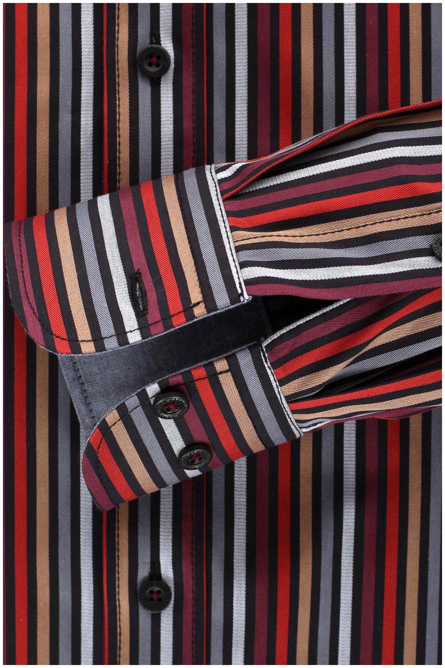 Camisas, Sport Manga Larga, 108910, GRANATE | Zoom