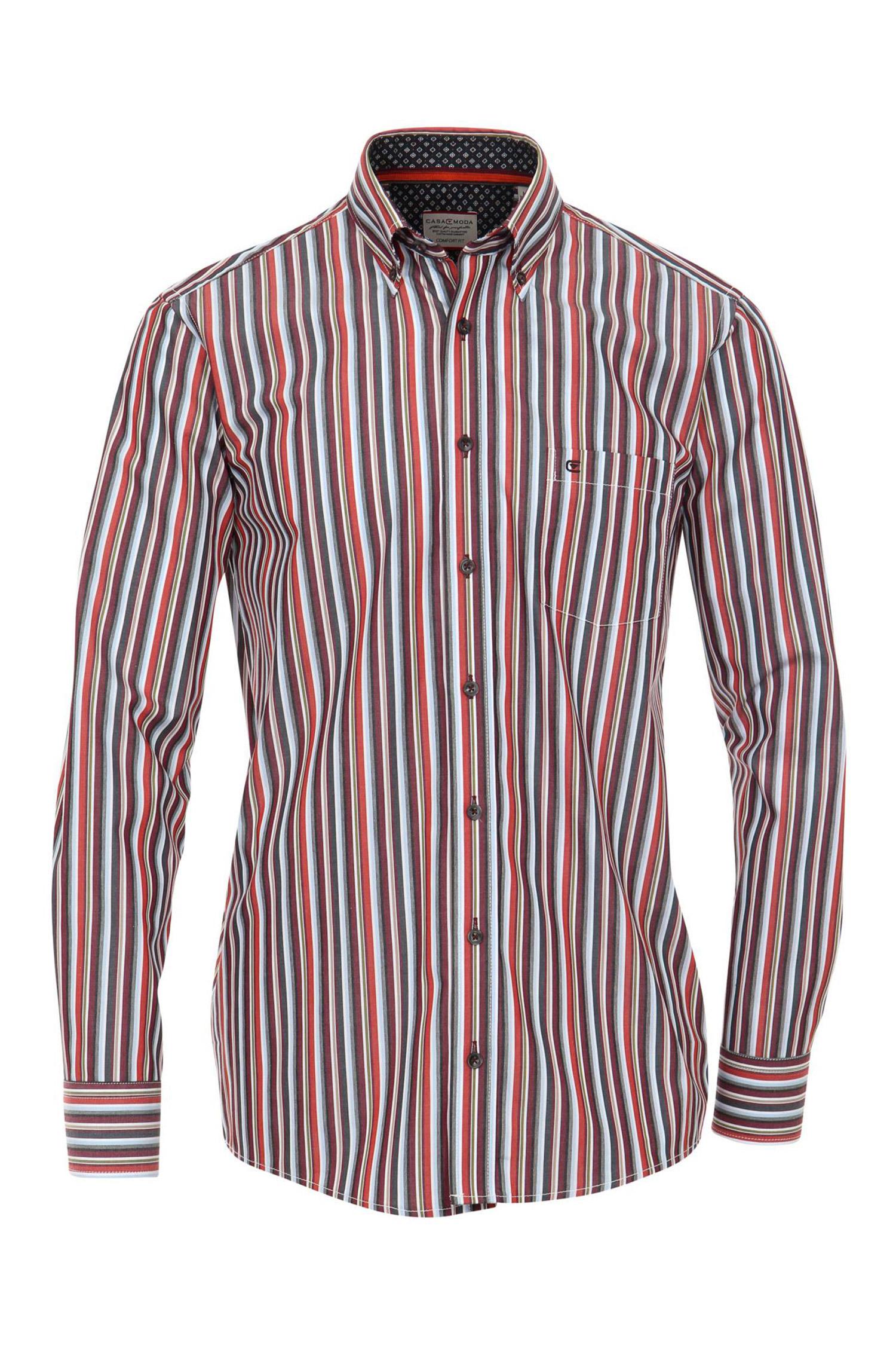 Camisas, Sport Manga Larga, 108917, ROJO   Zoom