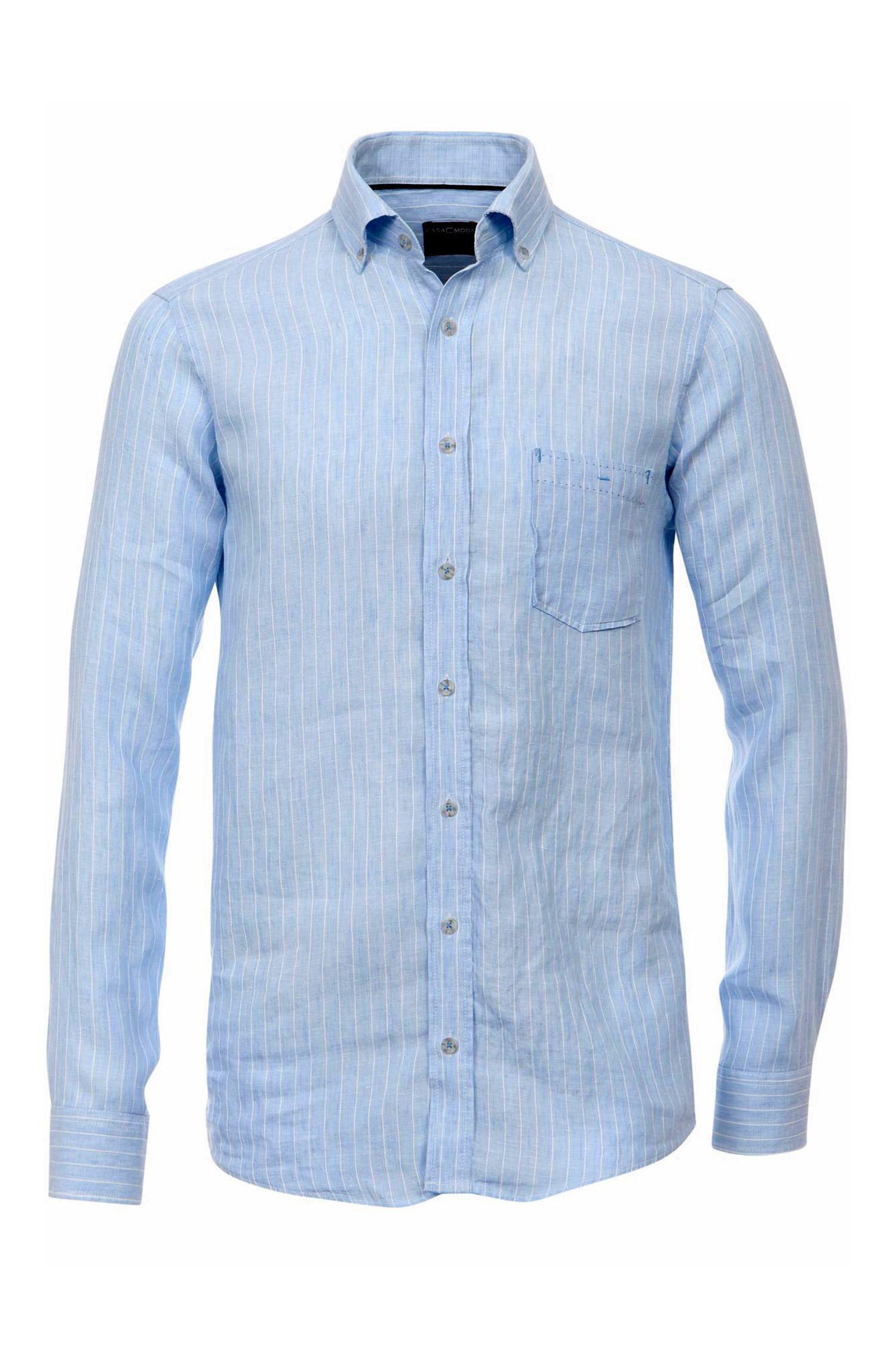 Camisas, Sport Manga Larga, 108921, CELESTE | Zoom