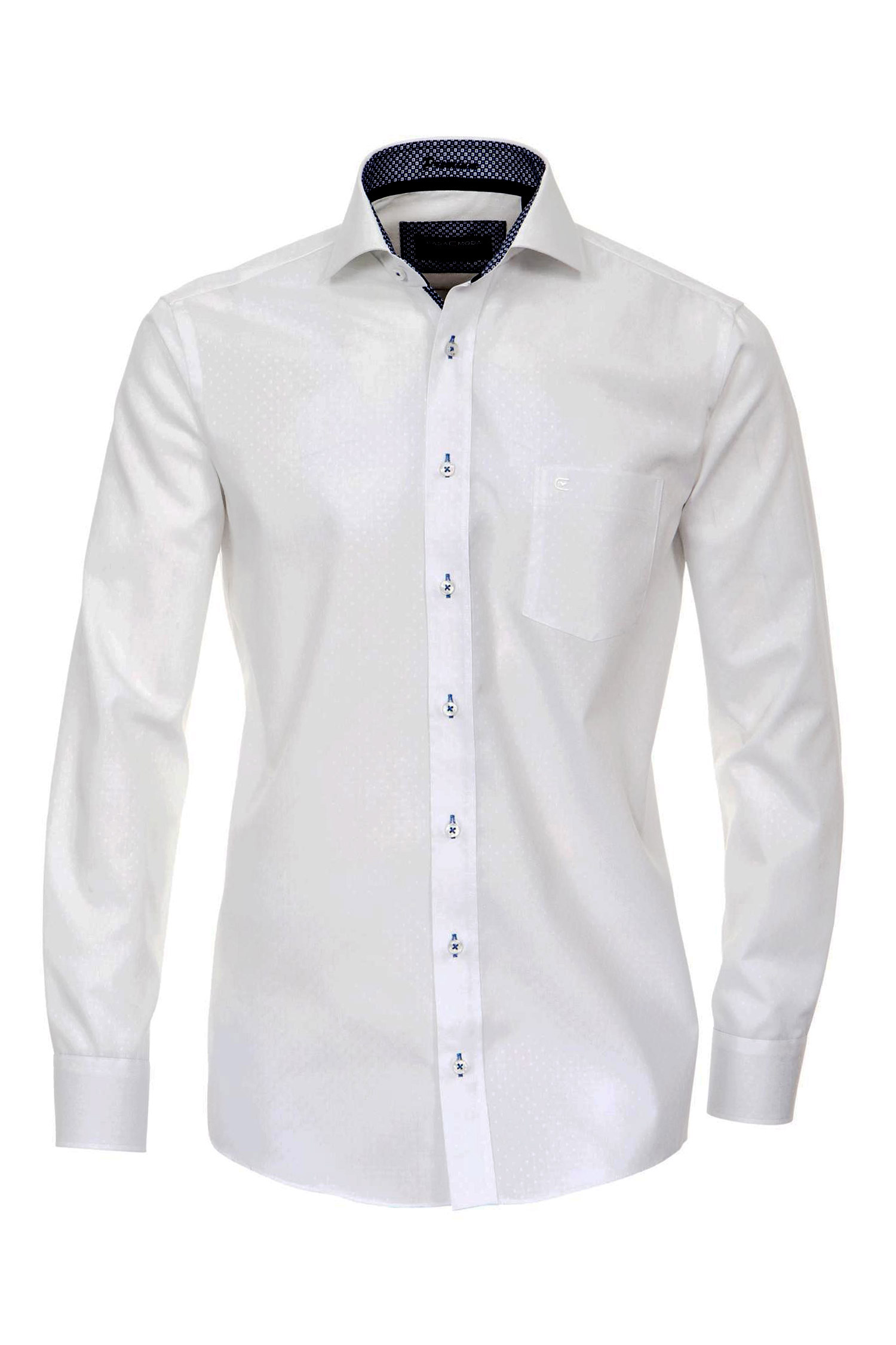 Camisas, Vestir Manga Larga, 108930, CELESTE | Zoom