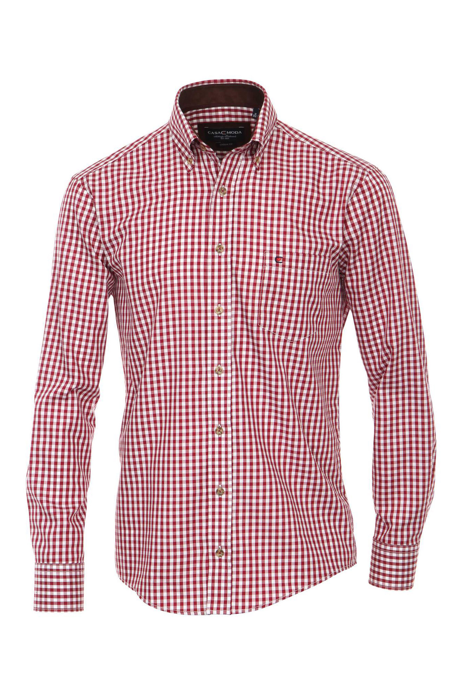 Camisas, Sport Manga Larga, 108934, ROJO | Zoom