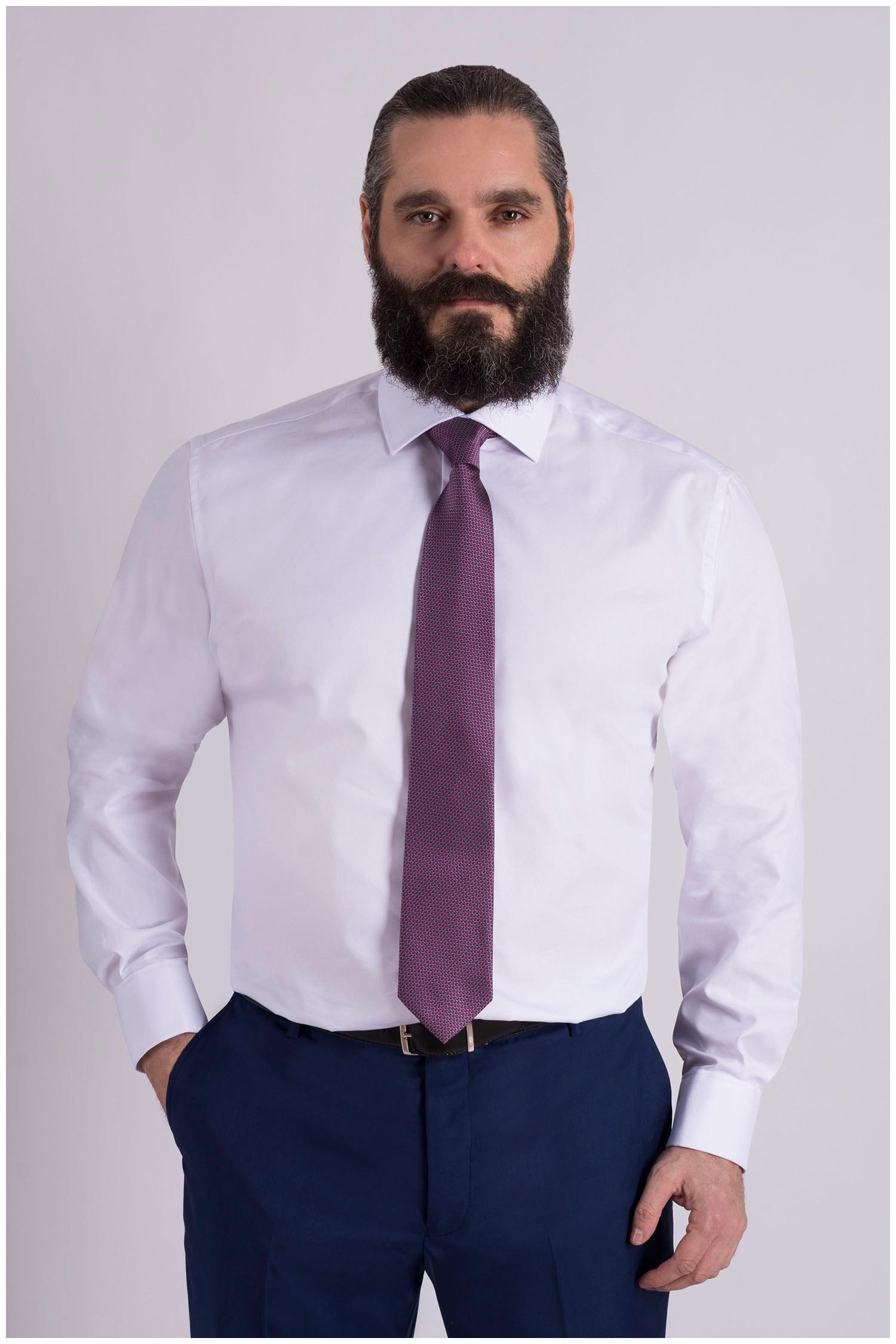 Camisas, Vestir Manga Larga, 108977, BLANCO | Zoom