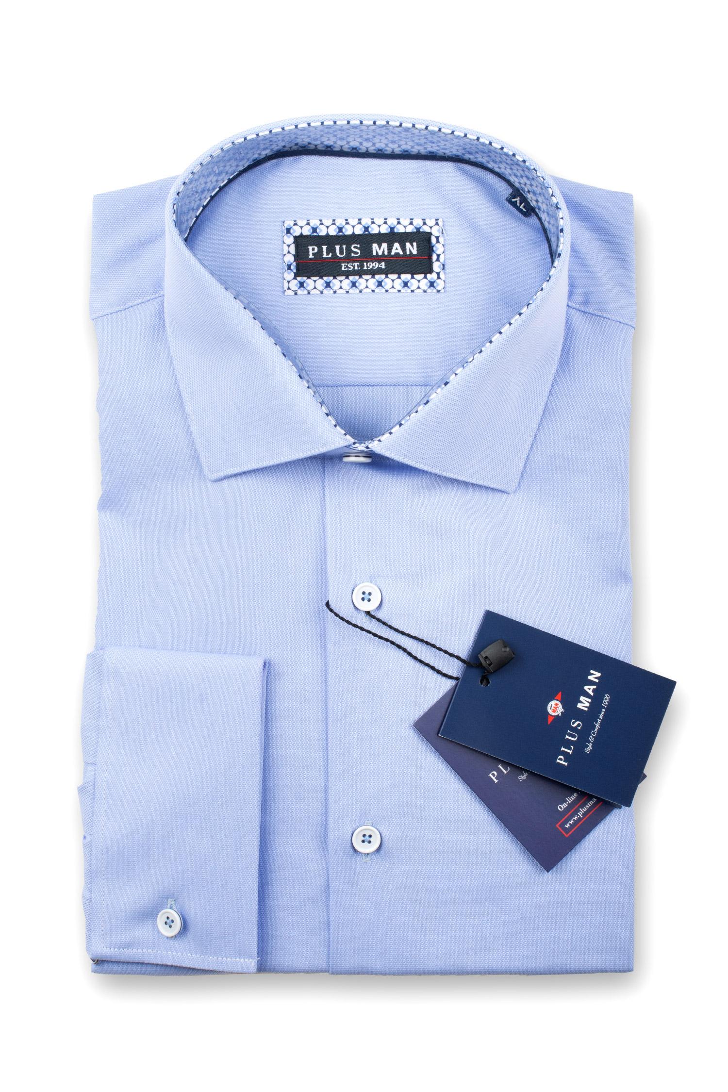 Camisas, Vestir Manga Larga, 108977, CELESTE | Zoom