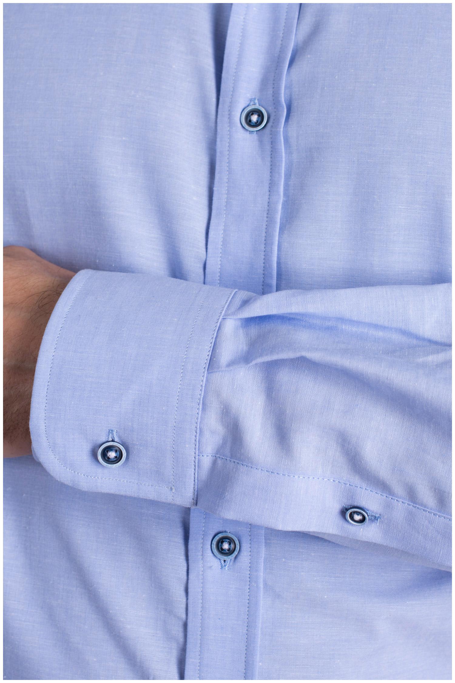 Camisas, Vestir Manga Larga, 108985, CELESTE | Zoom
