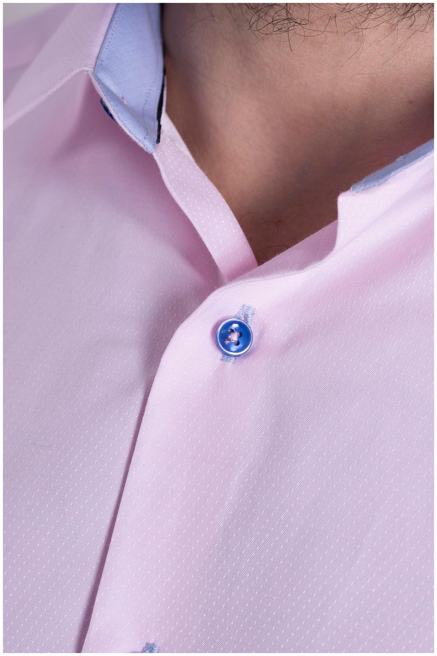 Camisas, Vestir Manga Larga, 108993, ROSA | Zoom